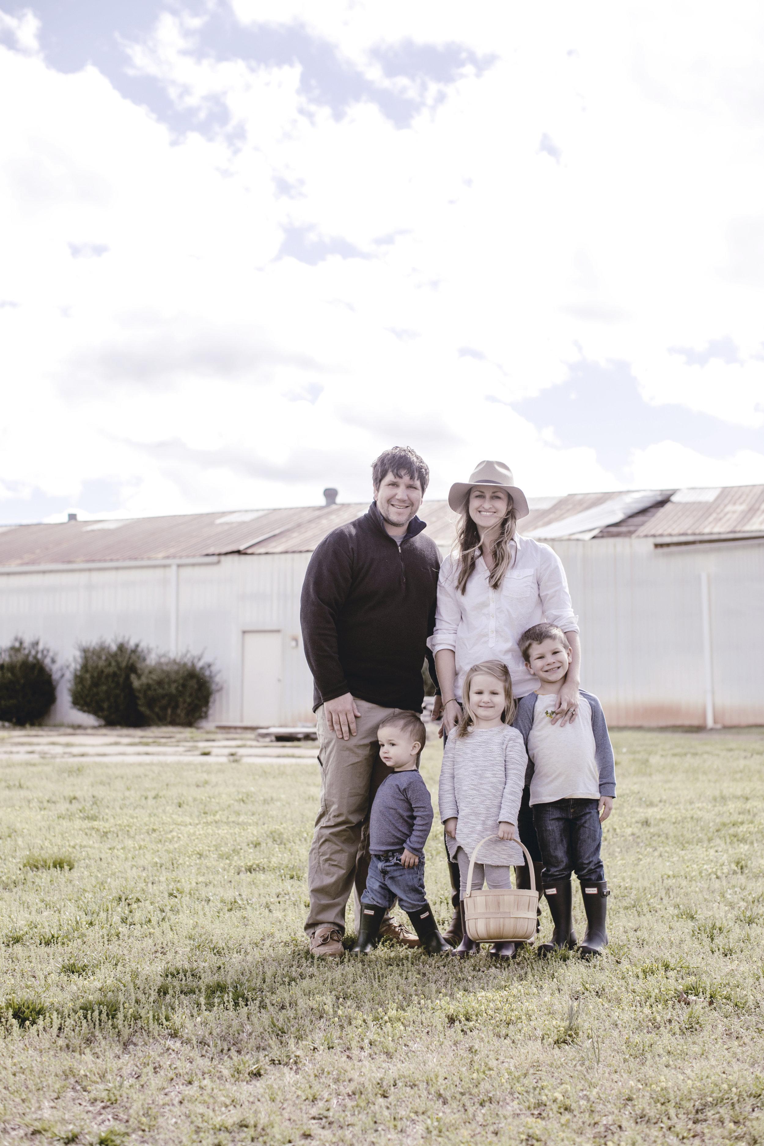 family farm portrait / heirloomed