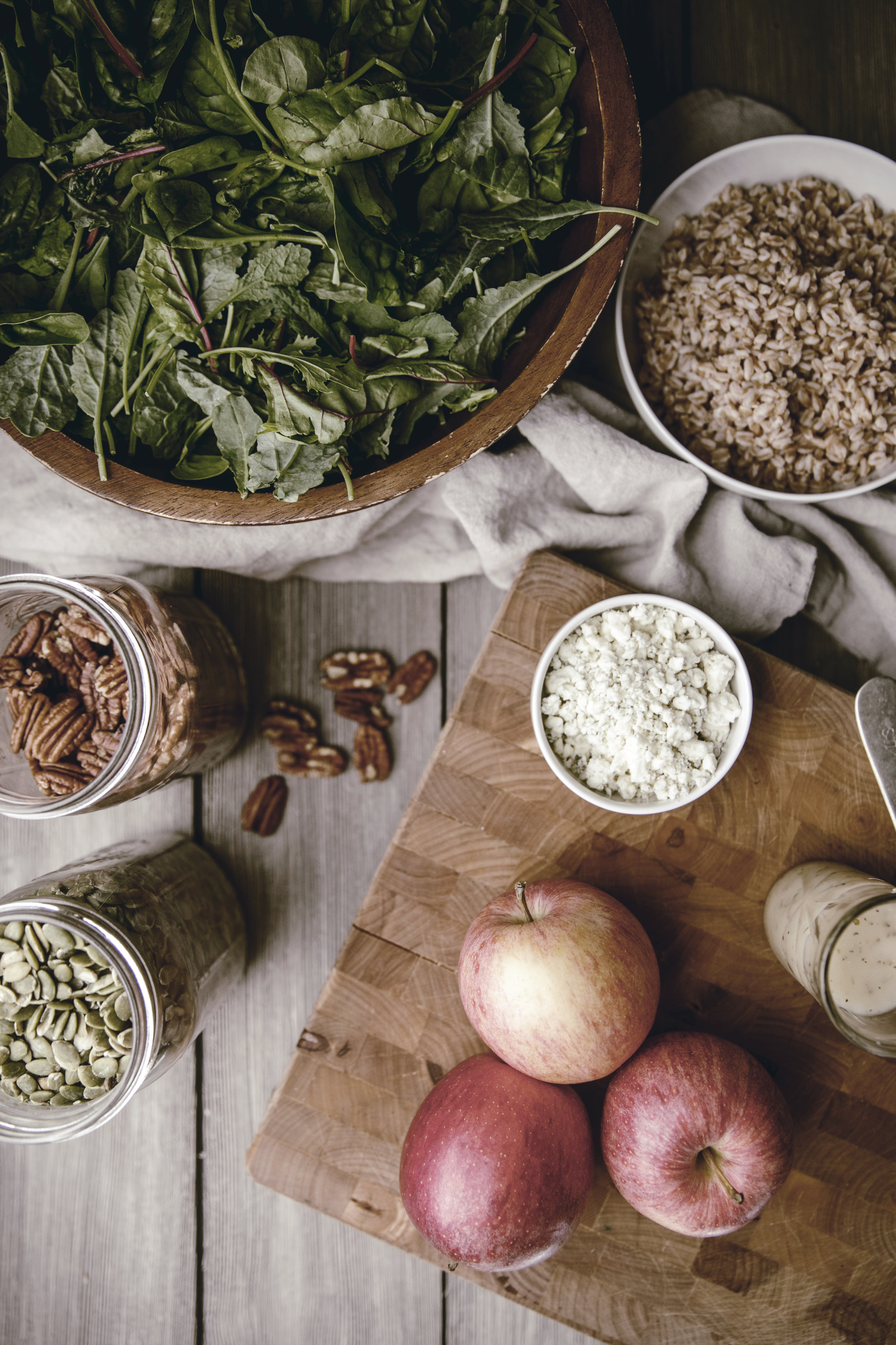 Apple Harvest Salad ingredients
