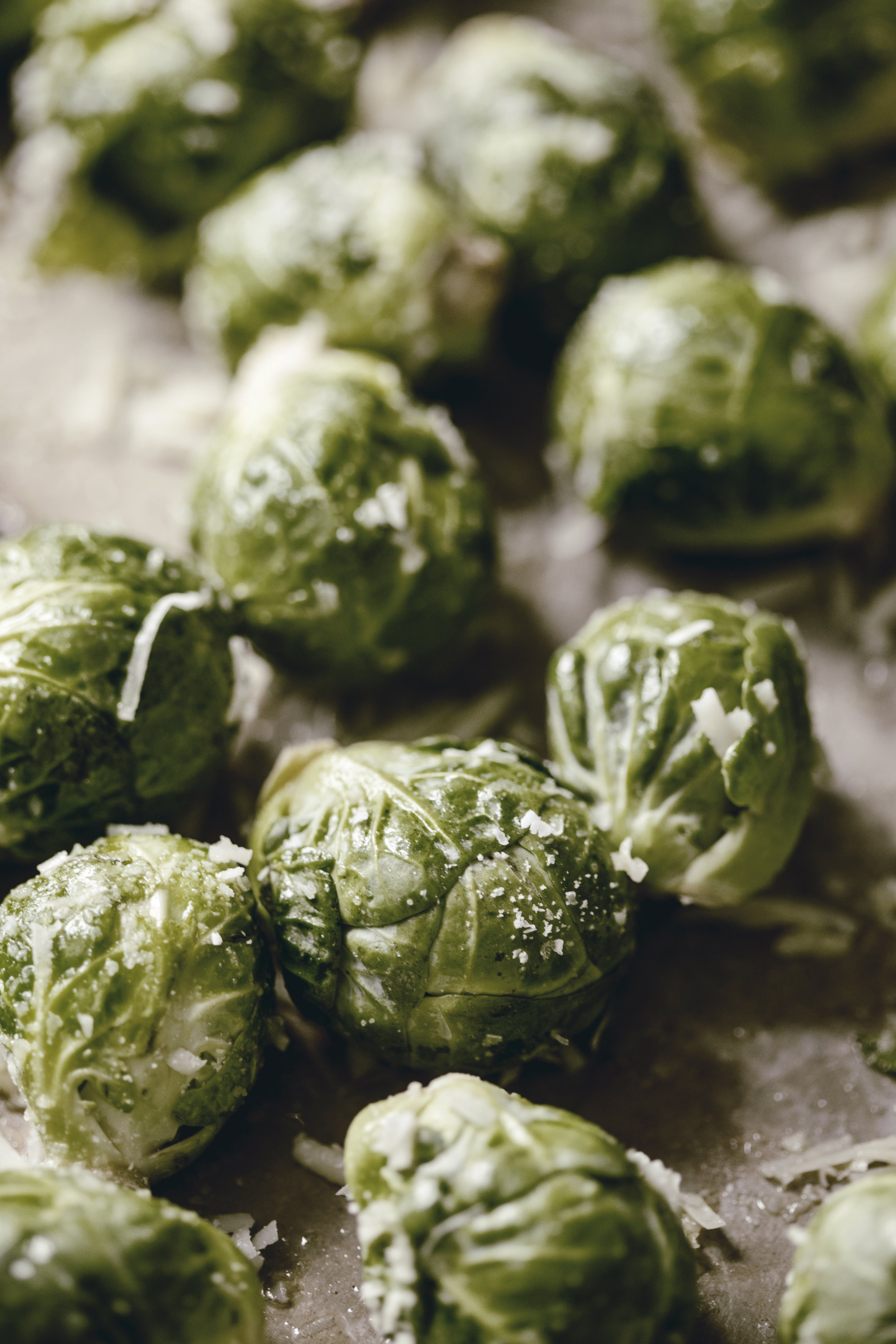 Roasted Brussel Sprouts heirloomed two