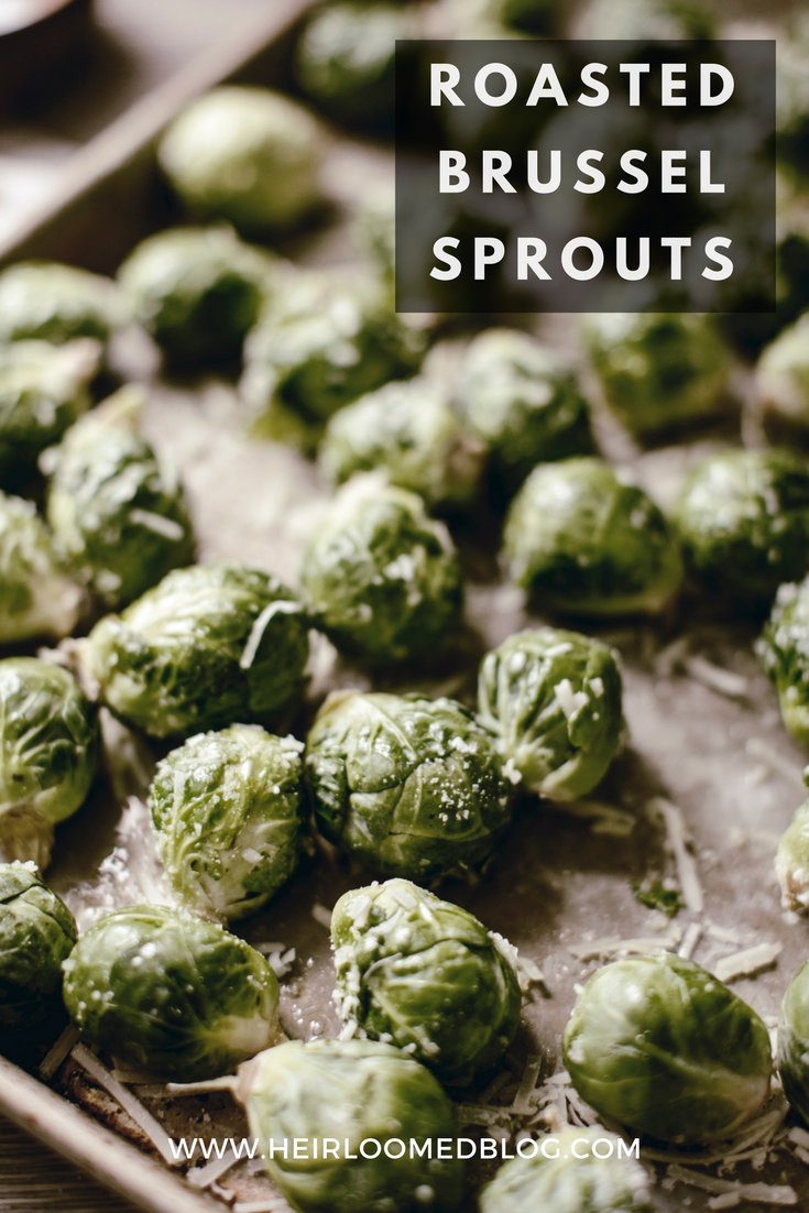 Roasted Brussel Sprouts Pinterest