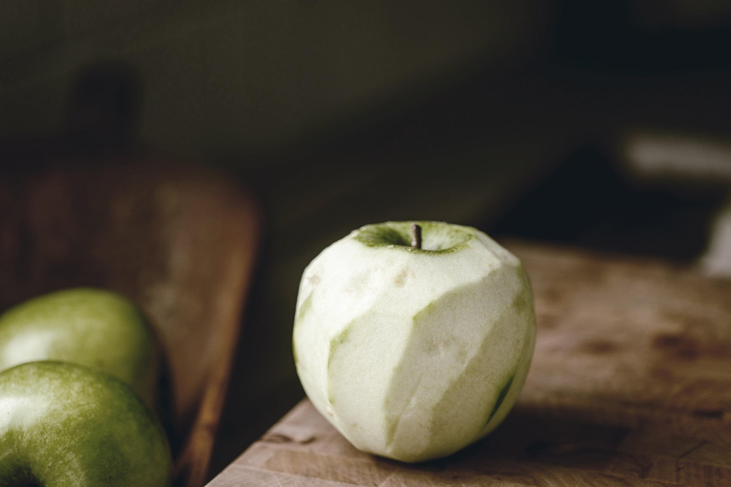 Green Apple Rustic Apple Tart