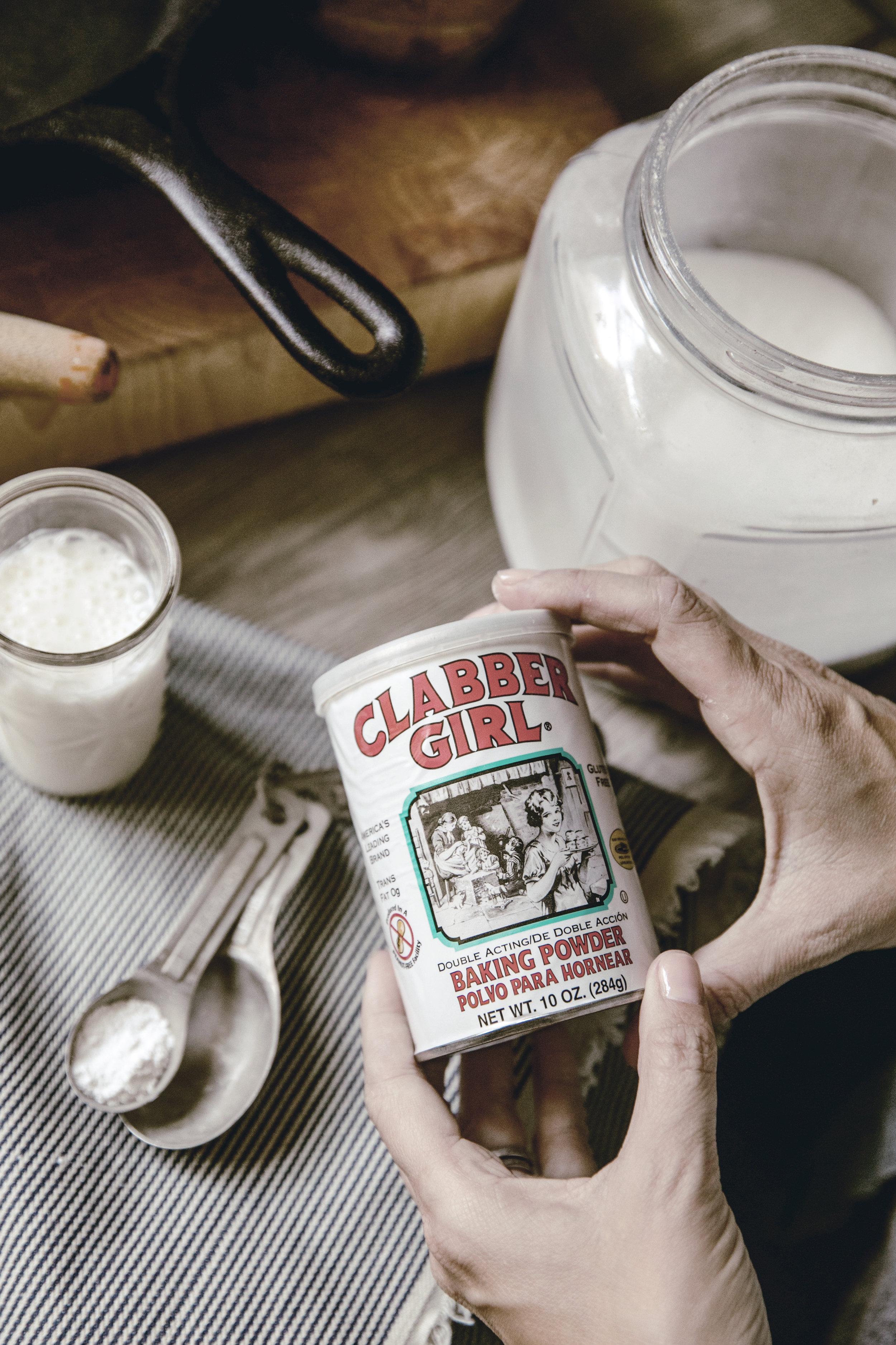 Apple Skillet Cobbler clabber girl baking powder