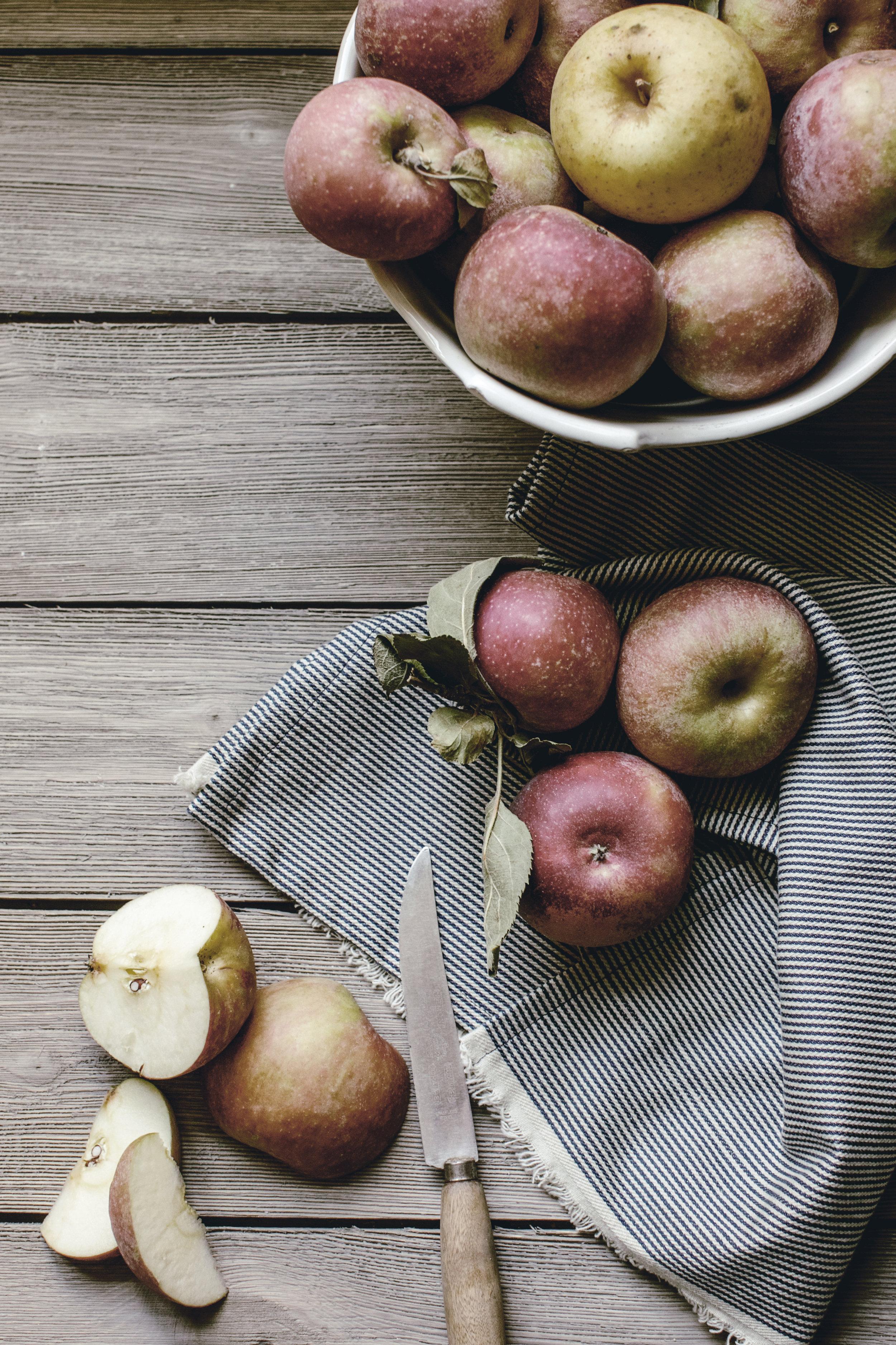 Apple picking Apple Skillet Cobbler