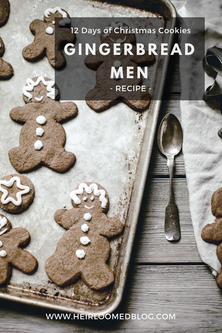 gingerbread men pinterest / heirloomed