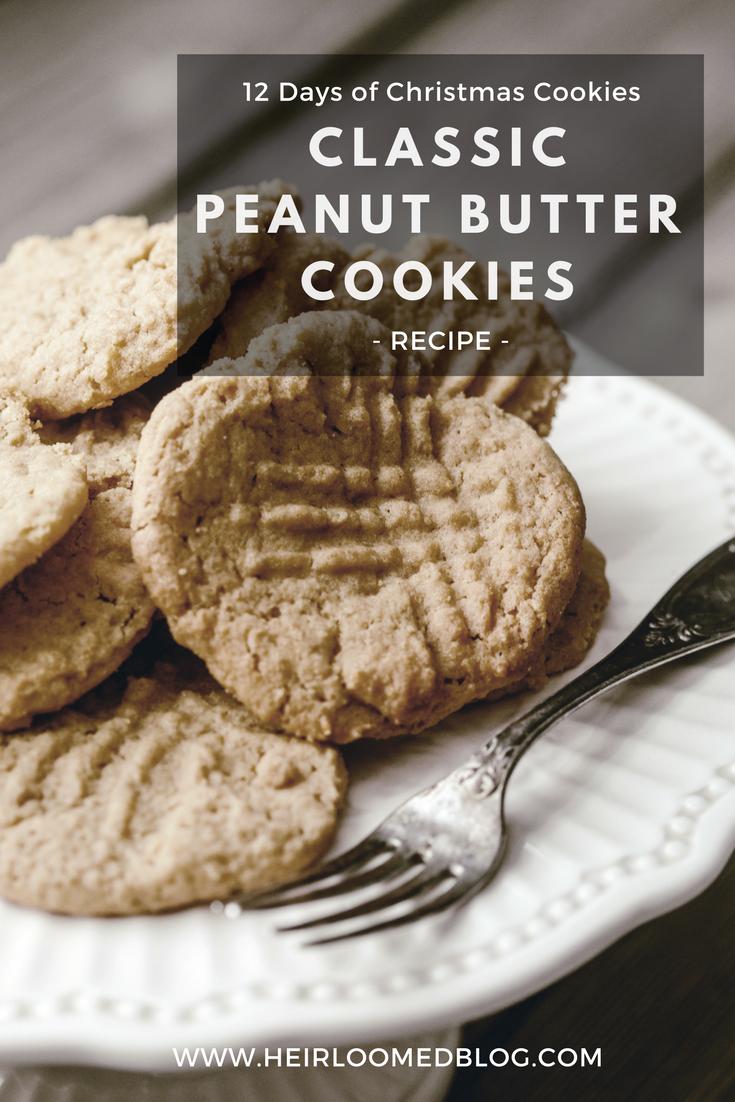 peanut butter cookies pinterest / heirloomed