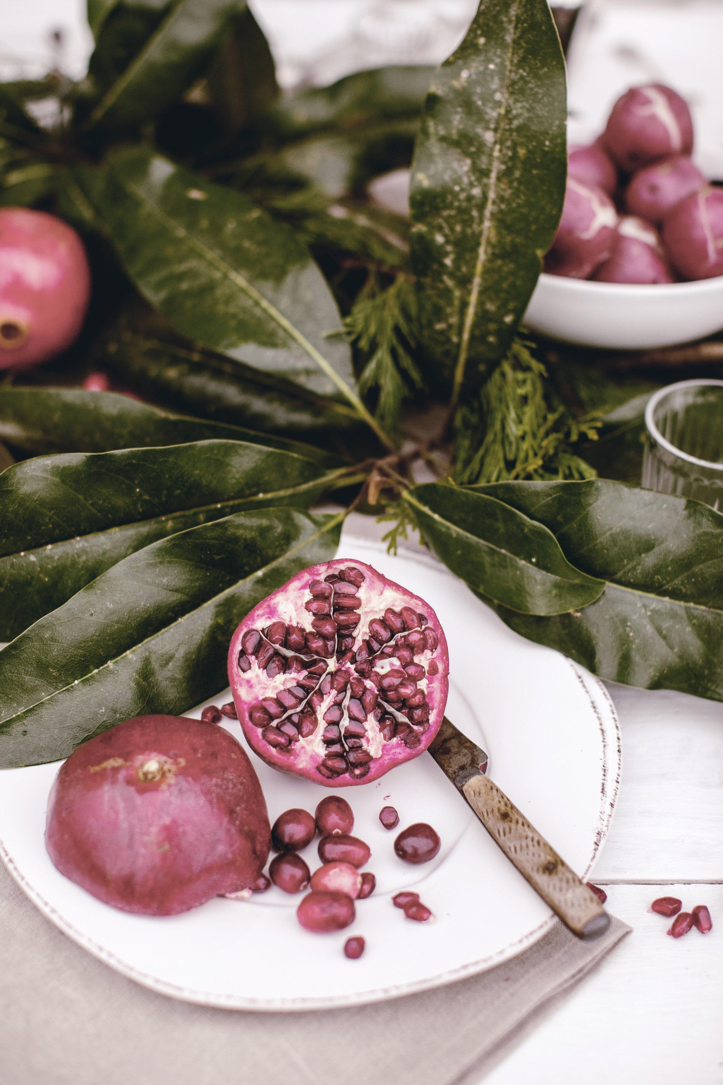 seasonal ingredients  holiday decor / heirloomed