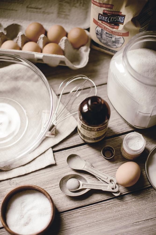 meringue ingredients / heirloomed