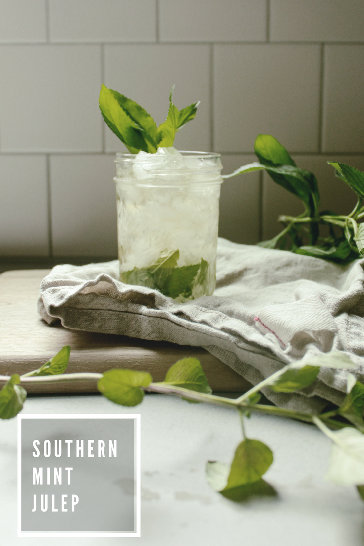 Southern Mint Julep cocktail recipe / heirloomed