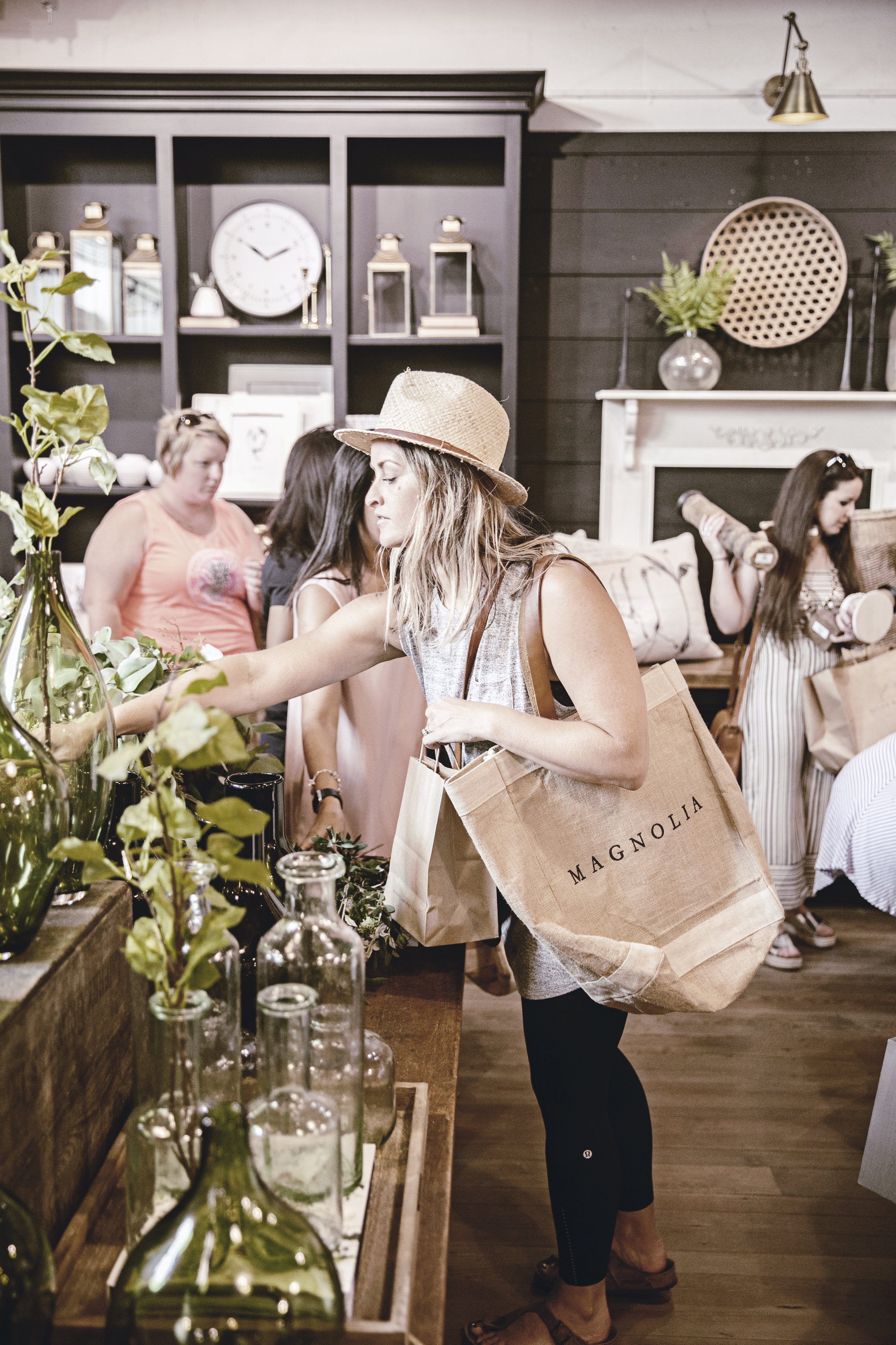 shopping magnolia market in Waco Texas / heirloomed