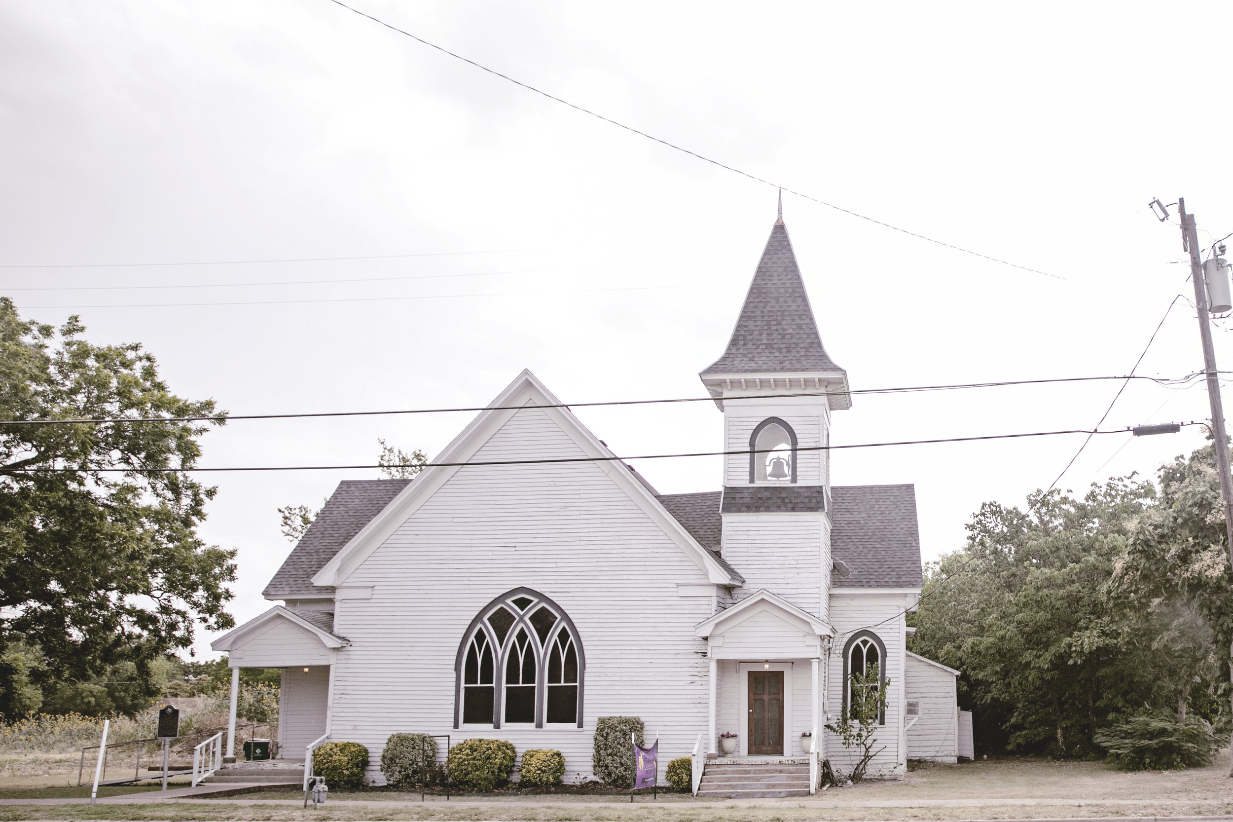 charming historic church / McGregor Texas / heirloomed travel