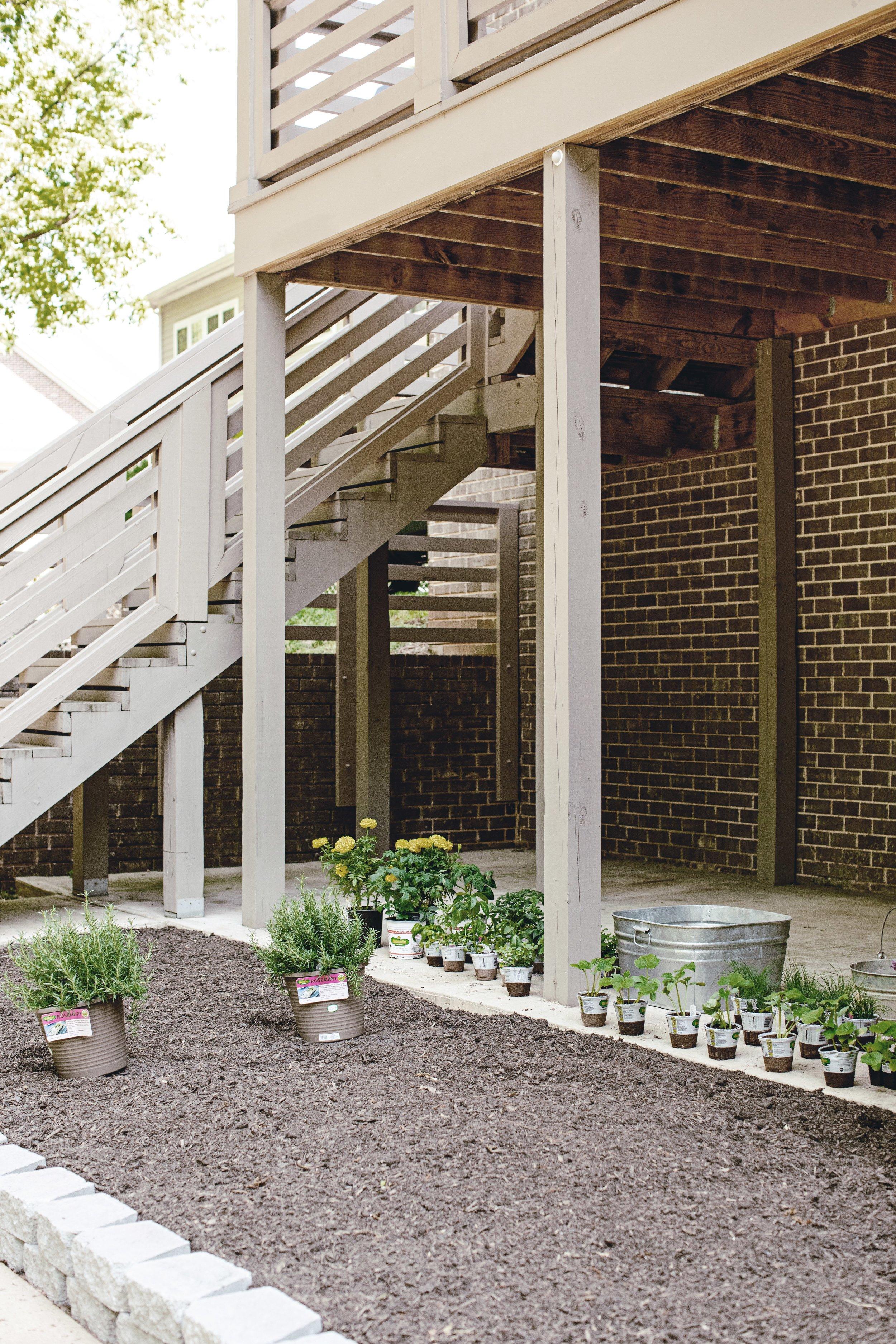 planting your farmhouse garden / heirloomed for the Home Depot garden series