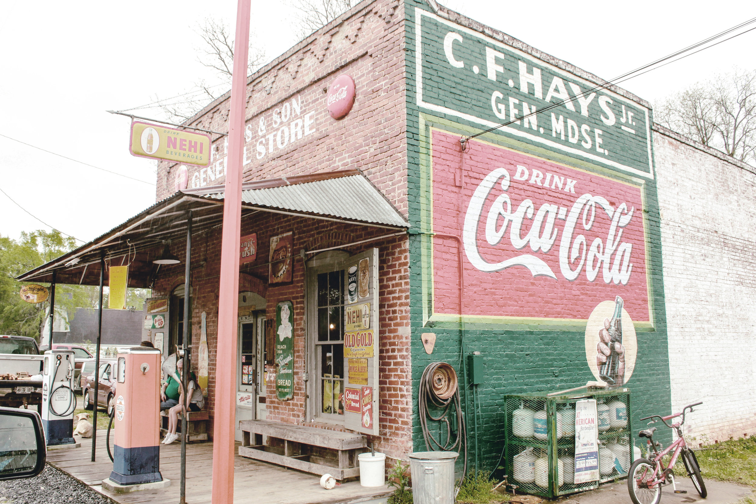 CF Hays and Son General Store / Musella GA / heirloomed travel