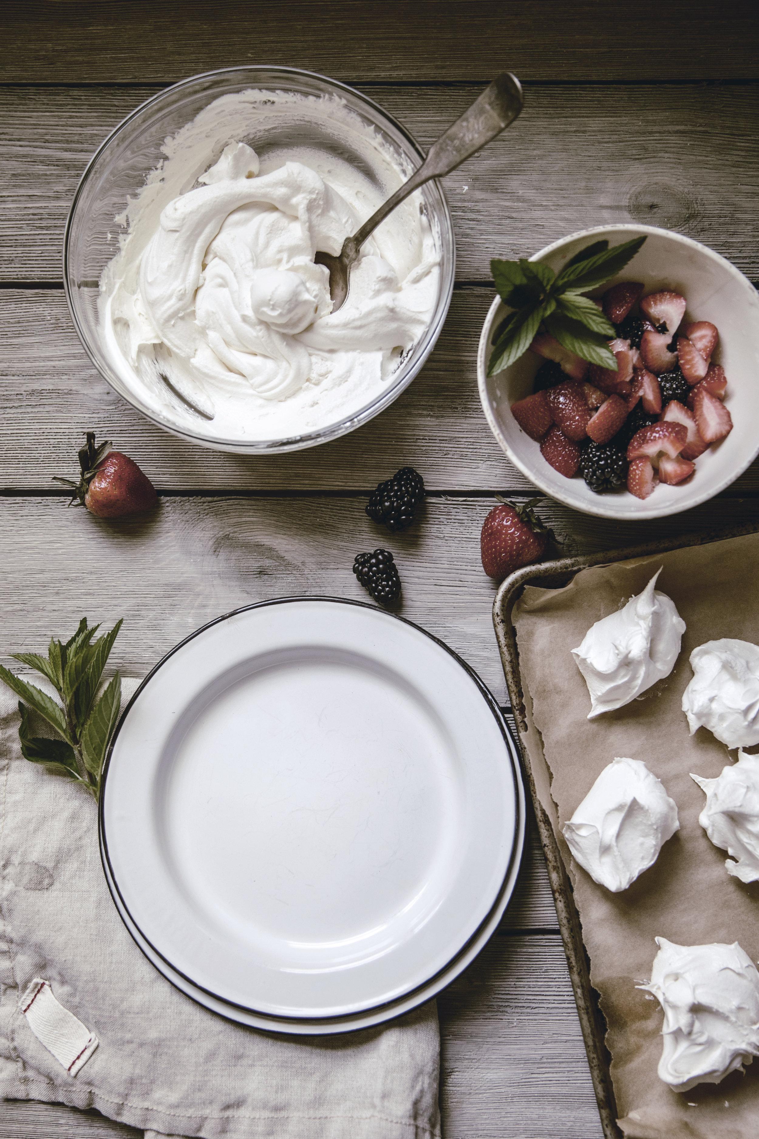 dessert Plating / heirloomed