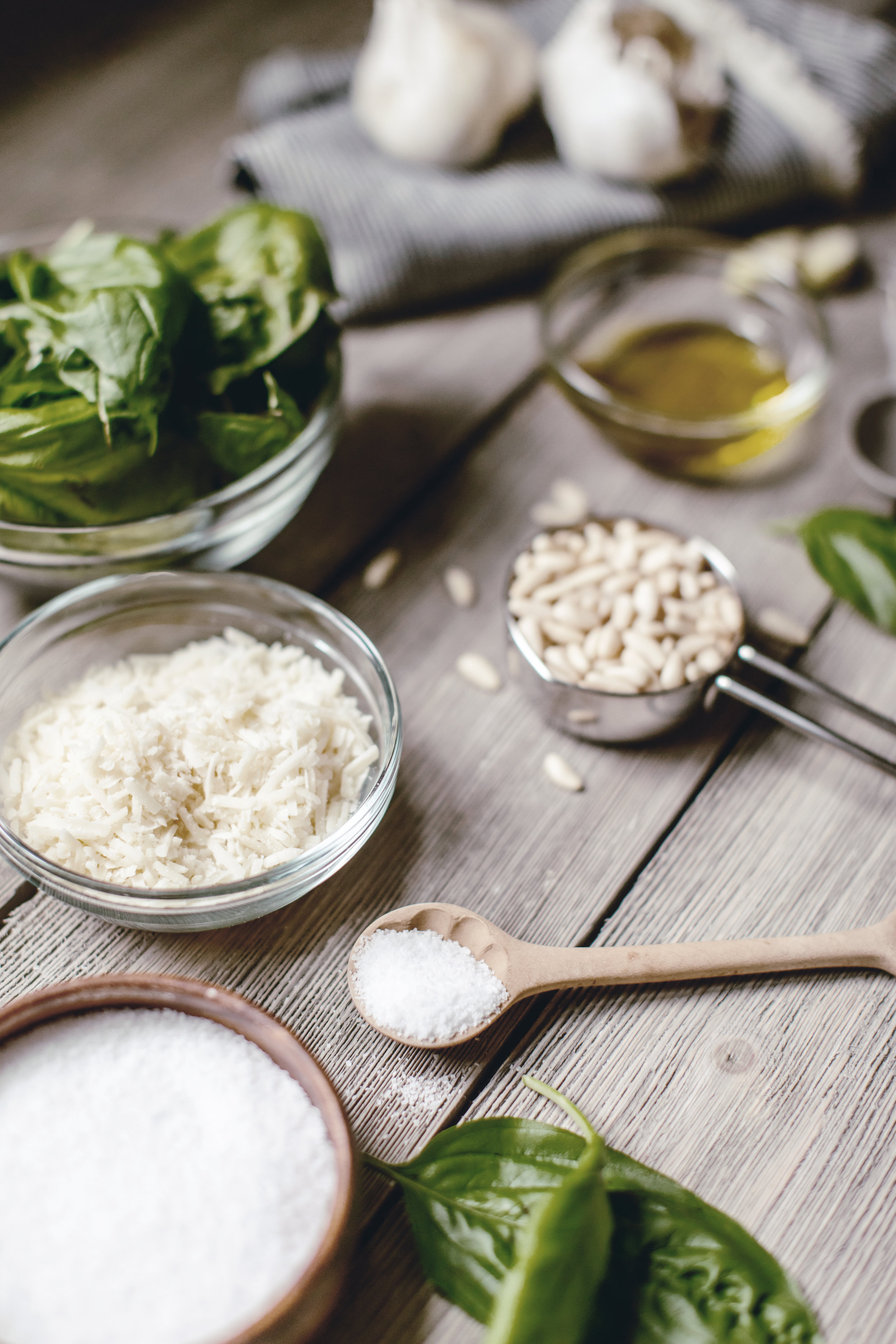 Basil Pesto Recipe / heirloomed