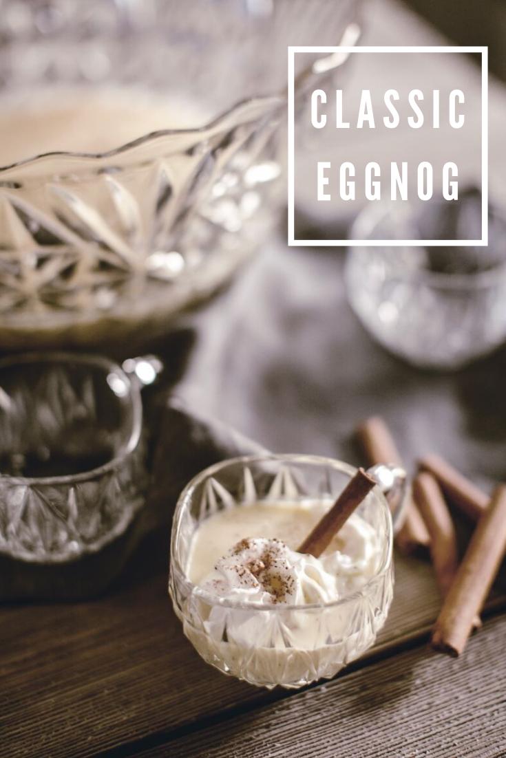 classic eggnog recipe / heirloomed