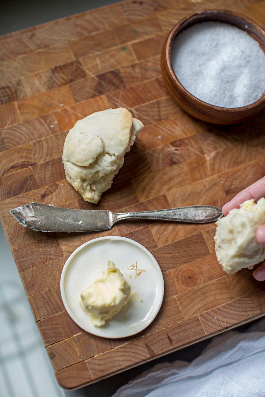 Homemade Butter / heirloomed