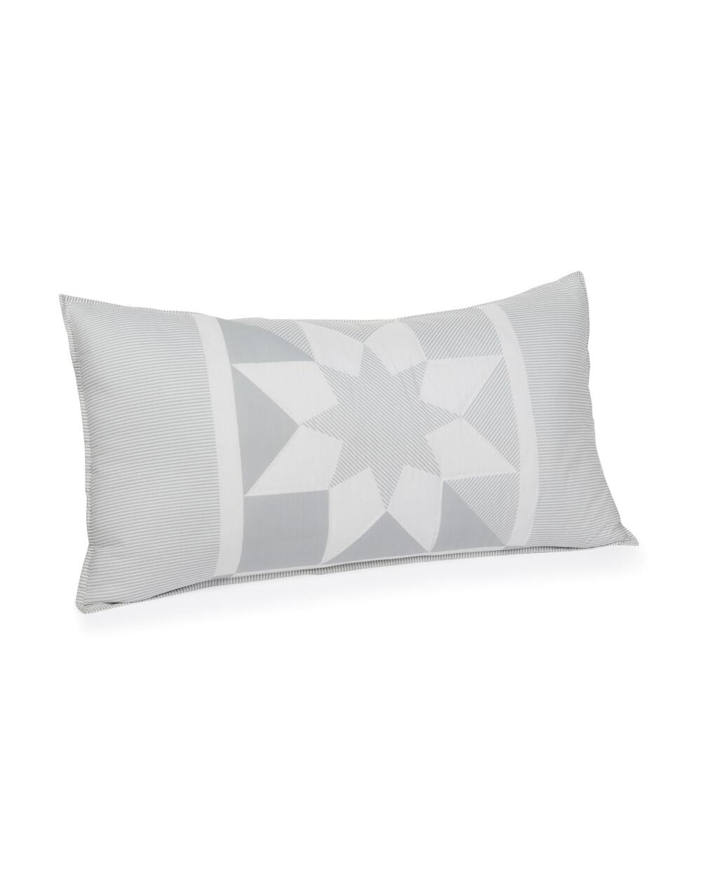 heirlooms star block quit dec pillow
