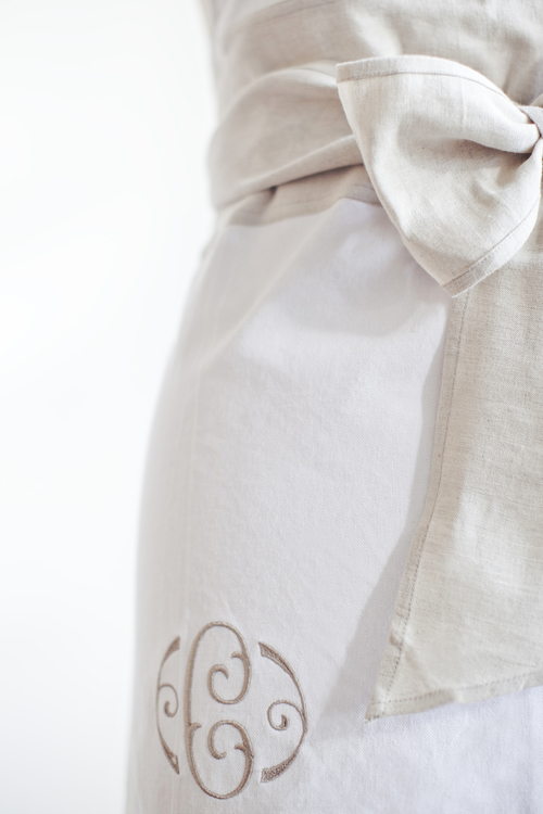 Bridal Apron by heirloomed