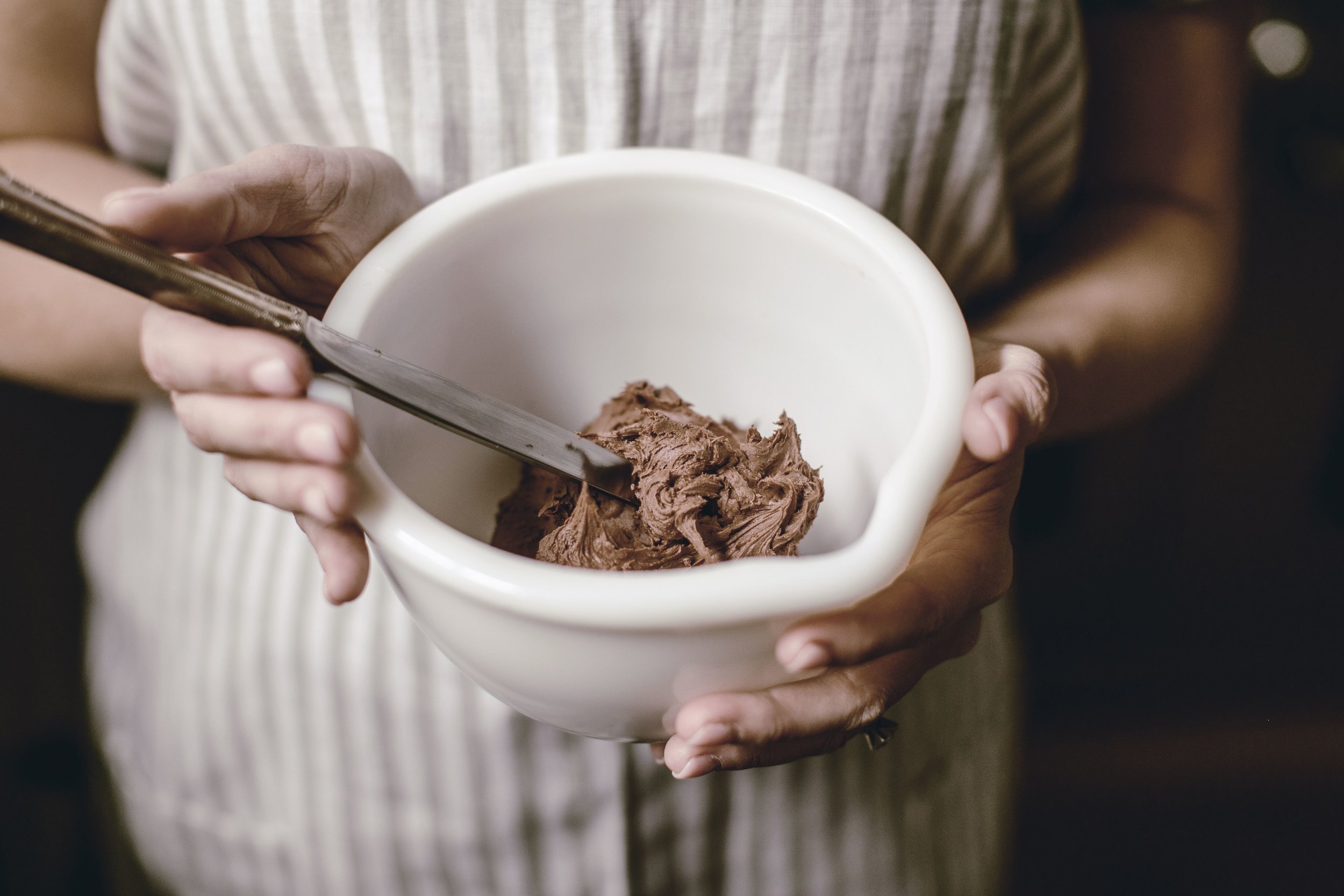 Chocolate buttercream Frosting Recipe by heirloomed