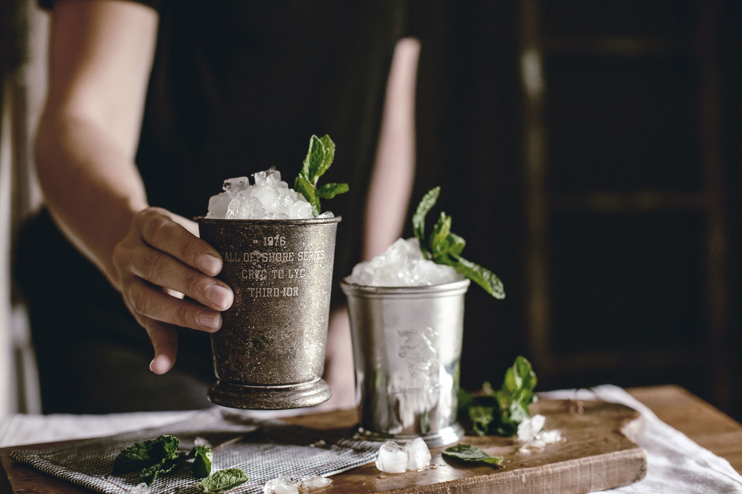 Easy Mint Julep Recipe by heirloomed