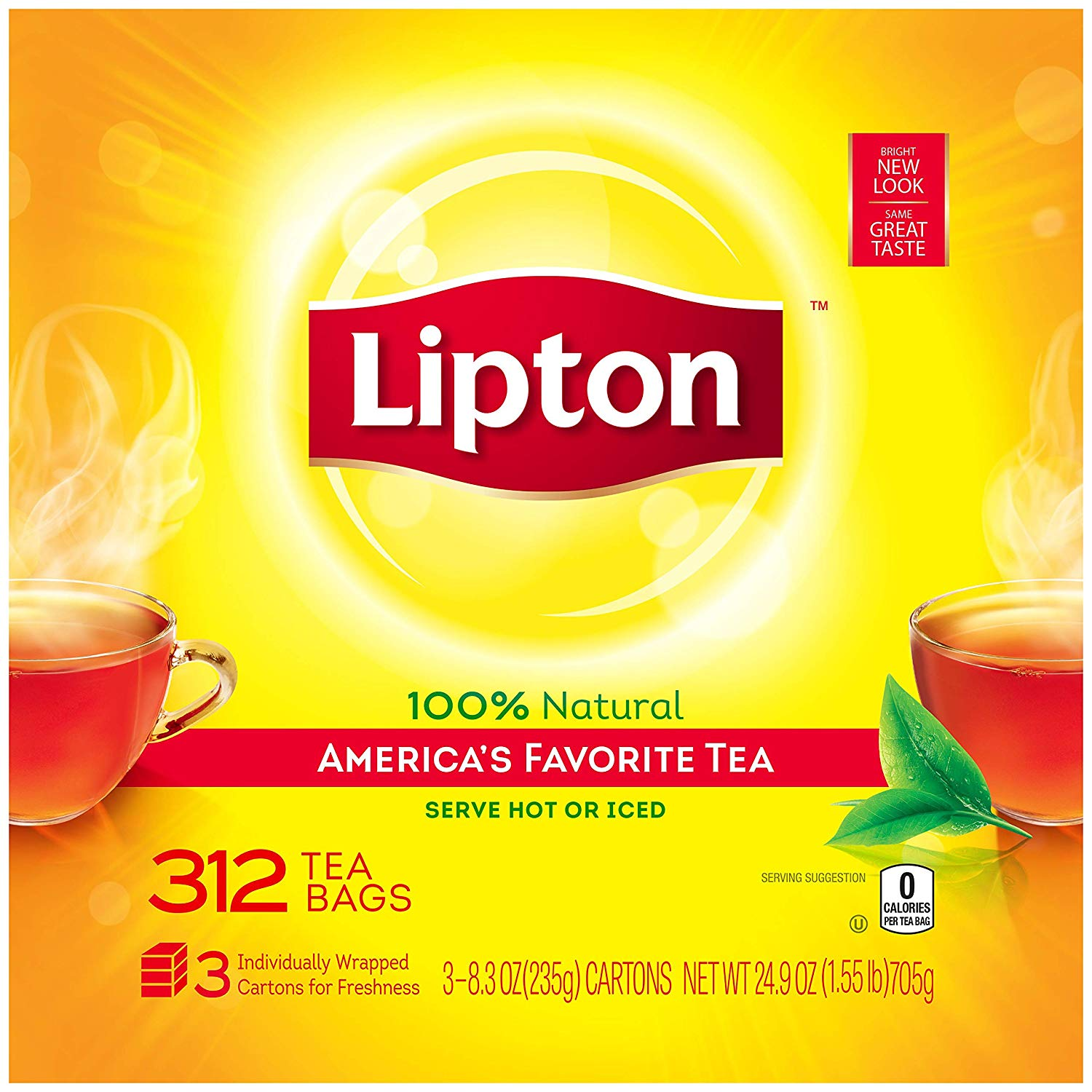 Lipton sweet tea bags