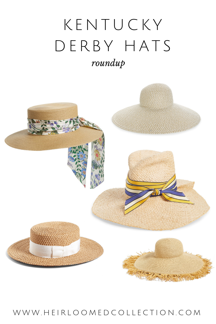 the best most beautiful and biggest Kentucky Derby hats by heirloomed