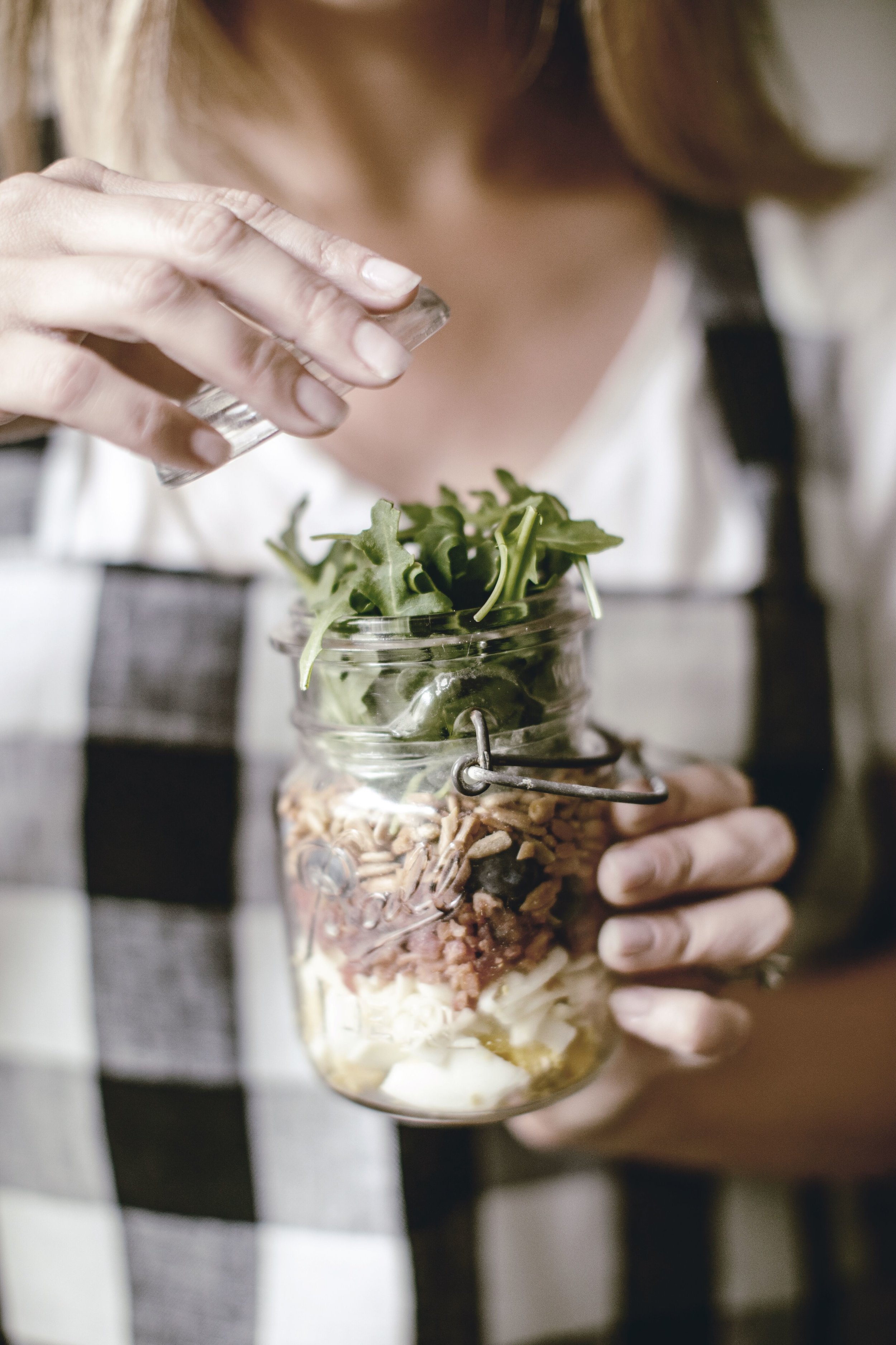 Salad Jar Recipe by heirloomed