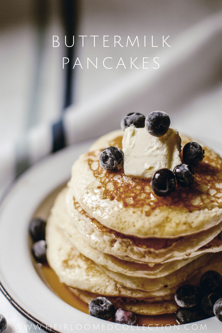 Buttermilk Pancakes by heirloomed