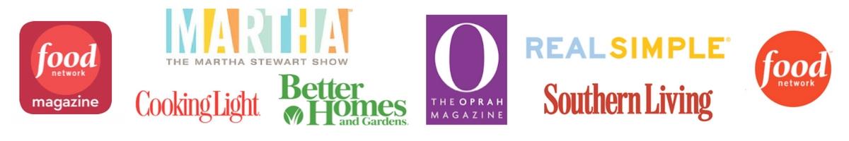 featured press by heirloomed including Martha Stewart Oprah Magazine