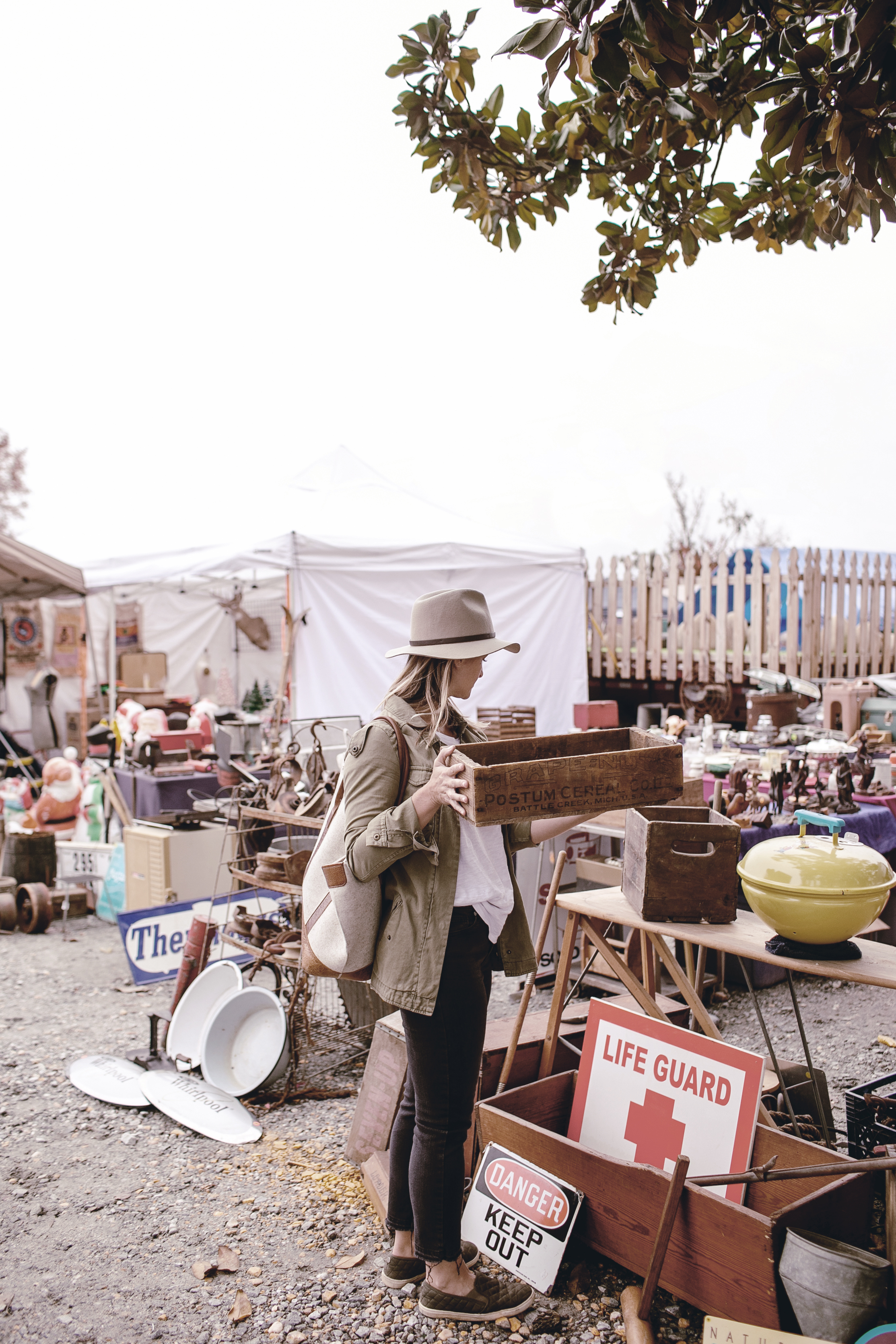tips for shopping an antique or vintage market by heirloomed