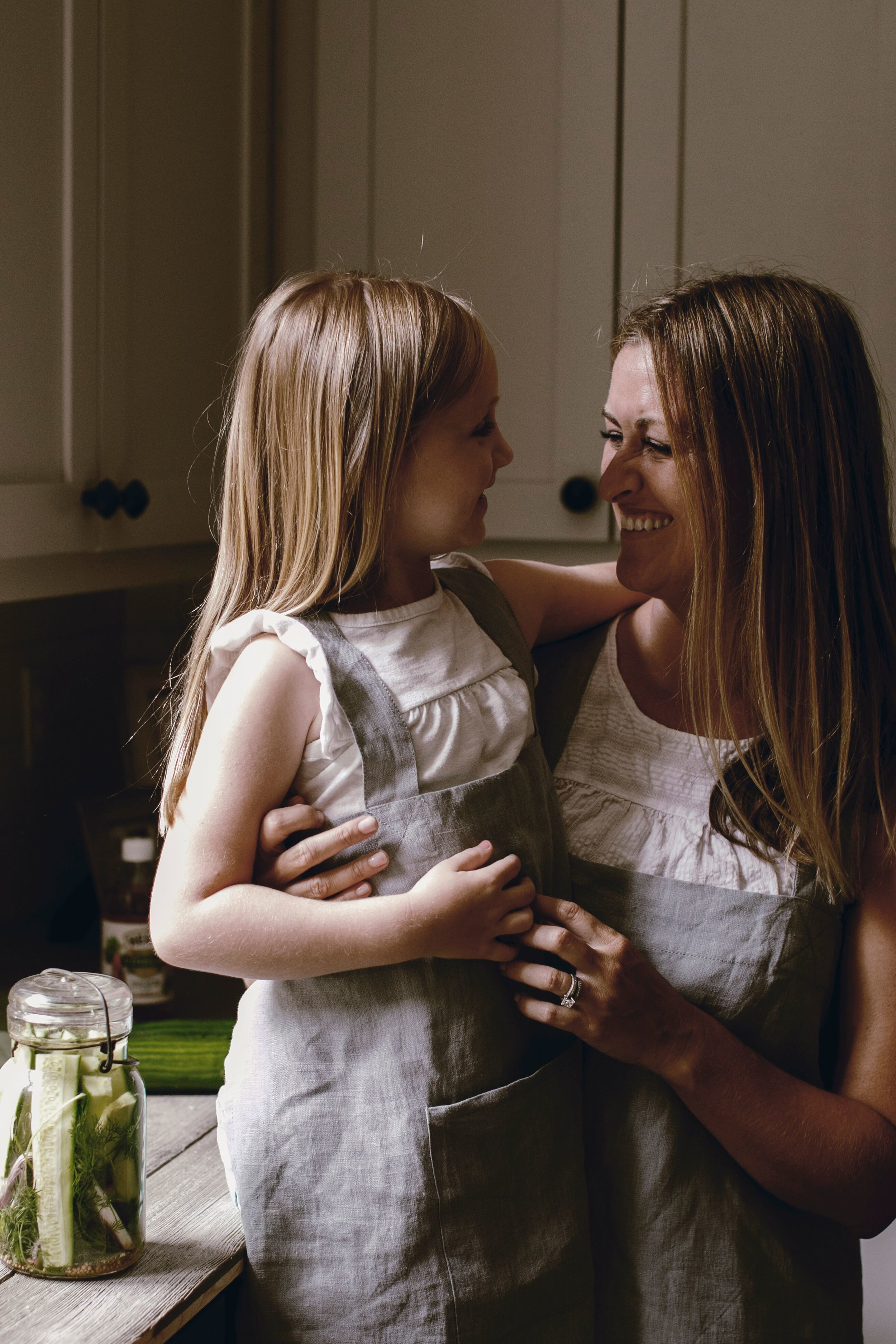 mom and daughter cooking recipes by heirloomed