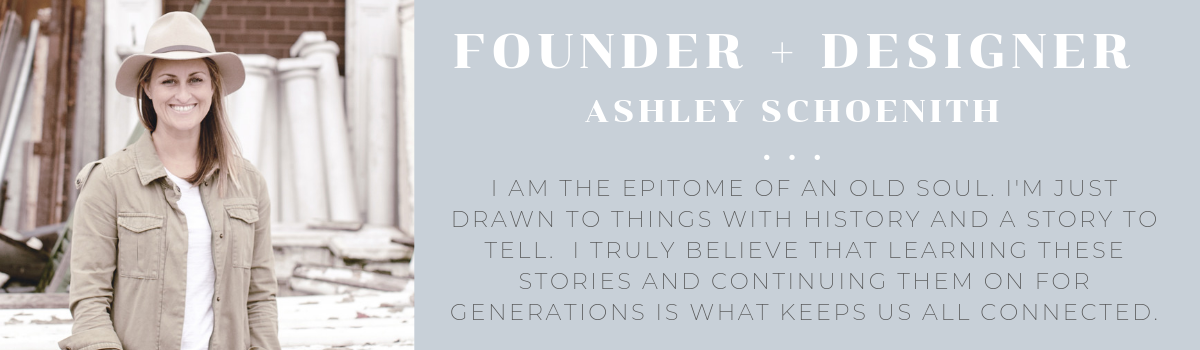 heirloomed collection founder lifestyle blogger and designer Ashley Schoenith
