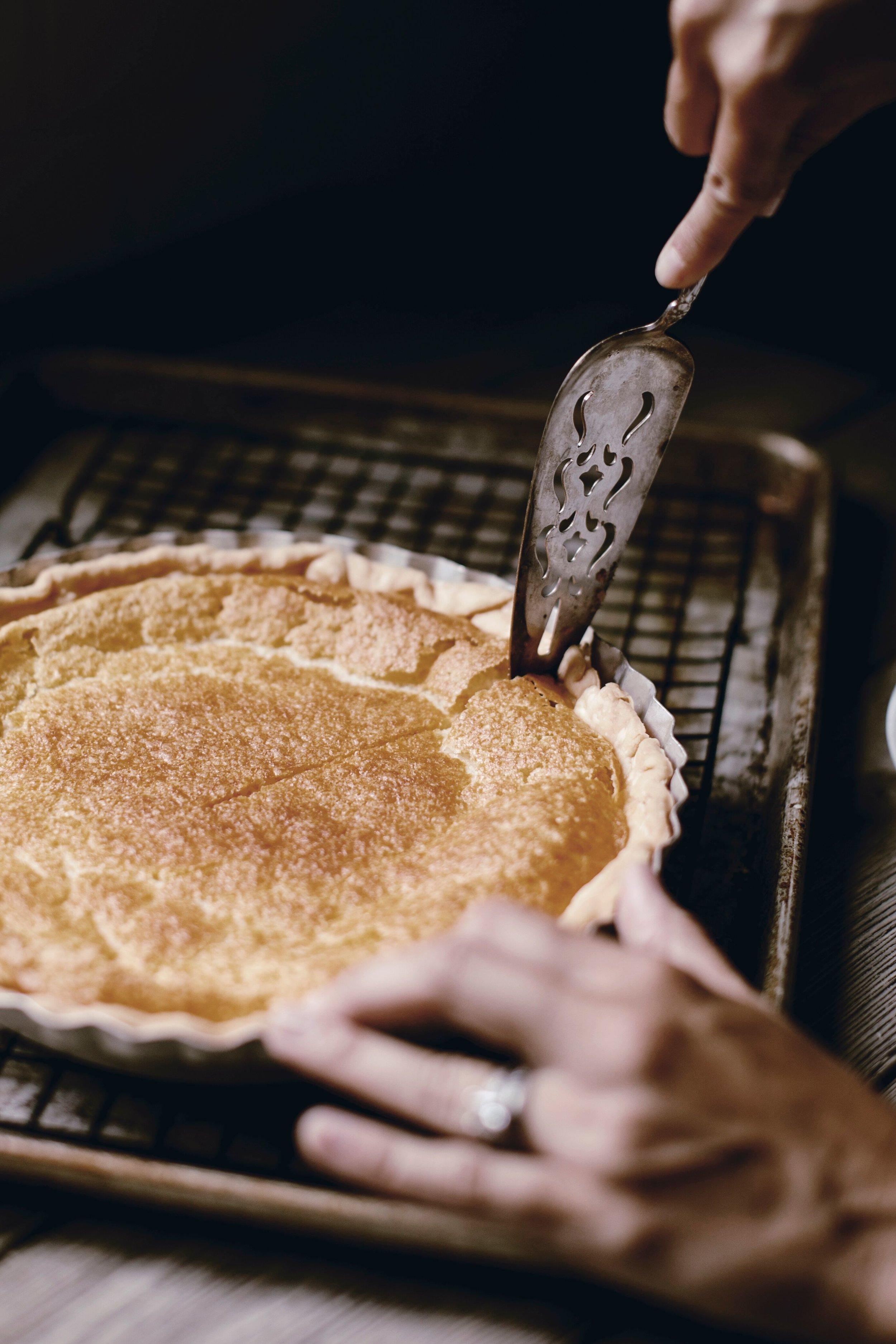 buttermilk pie by heirloomed