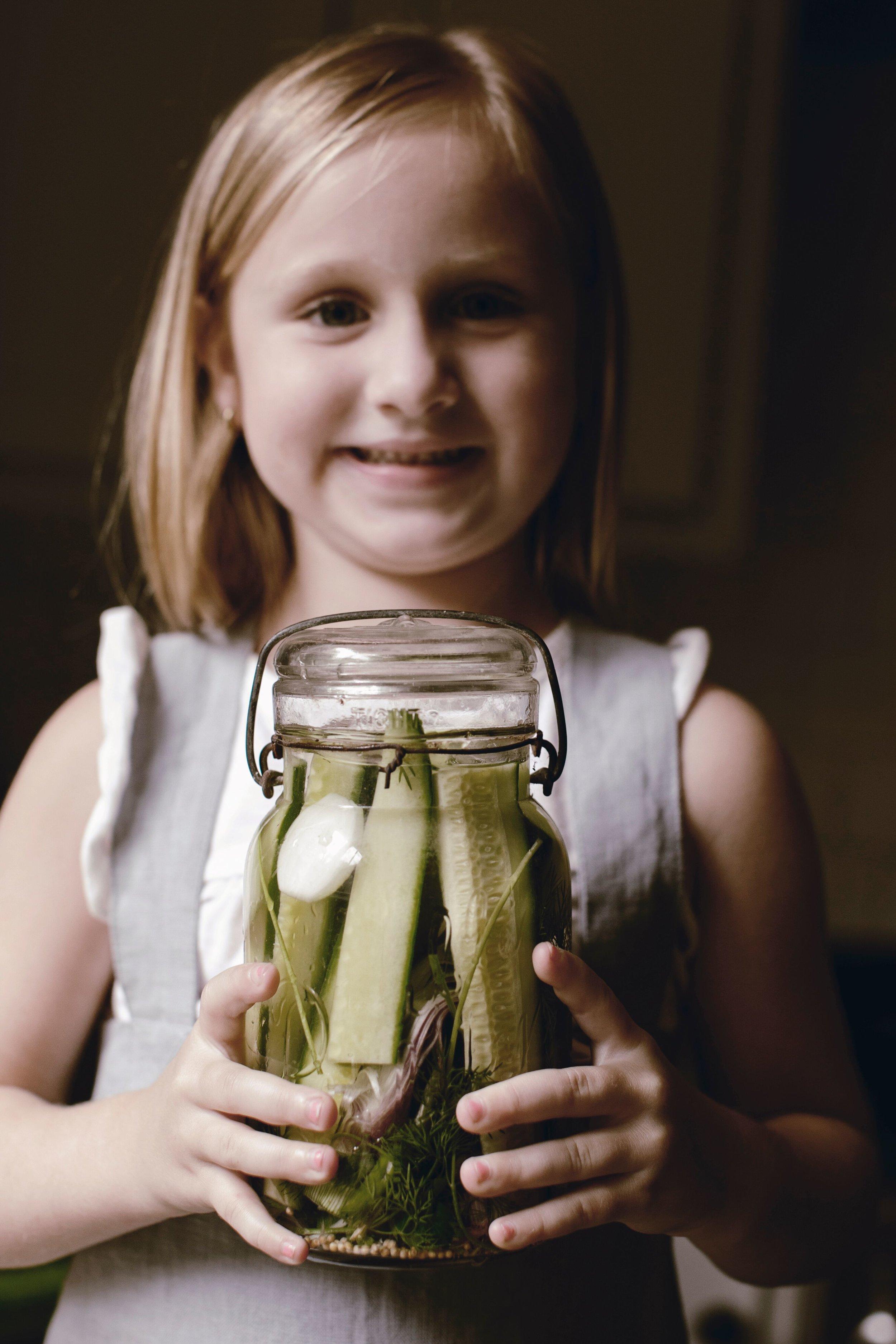 mason jar day pickles heirloomed