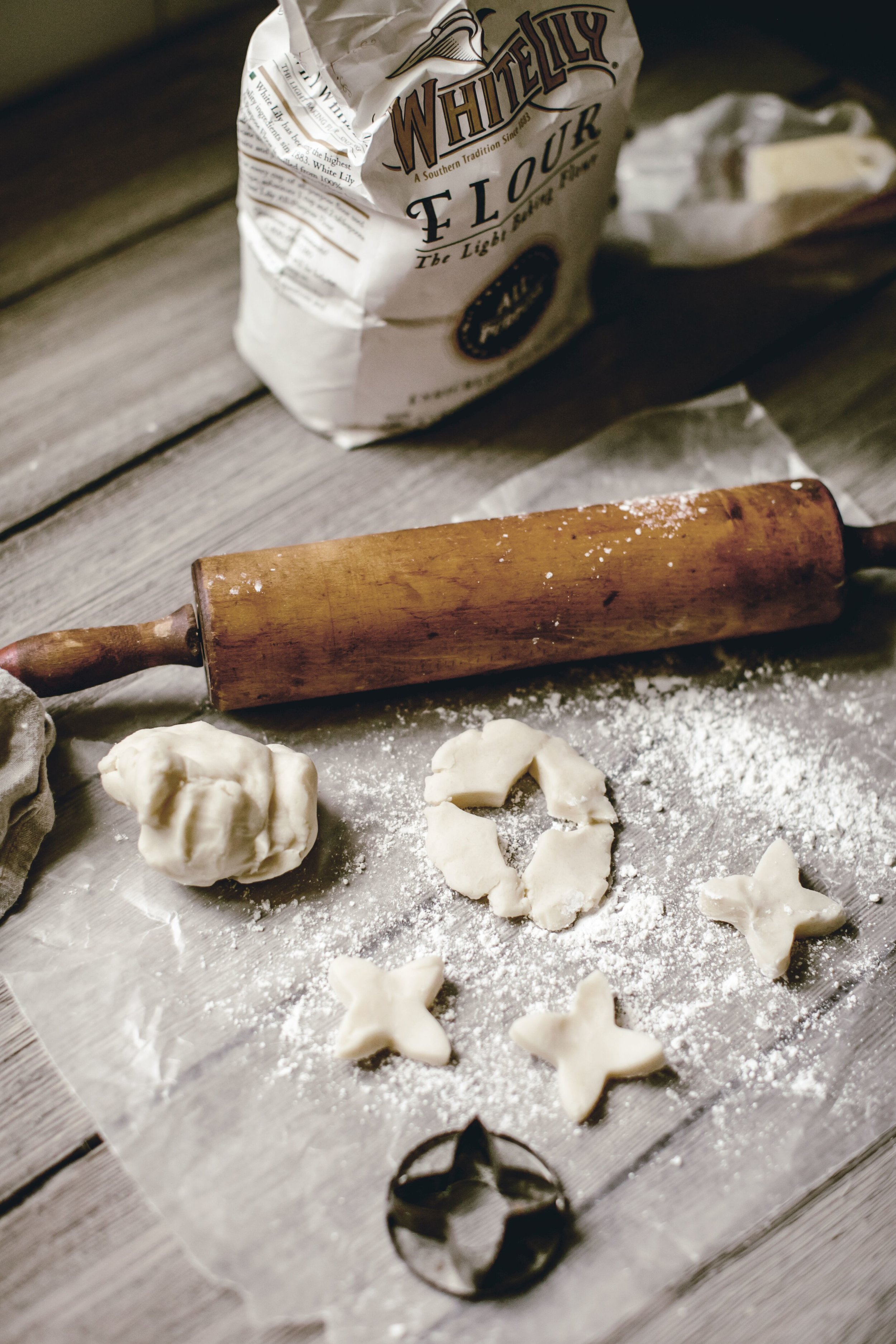 wooden rolling pin heirloomed