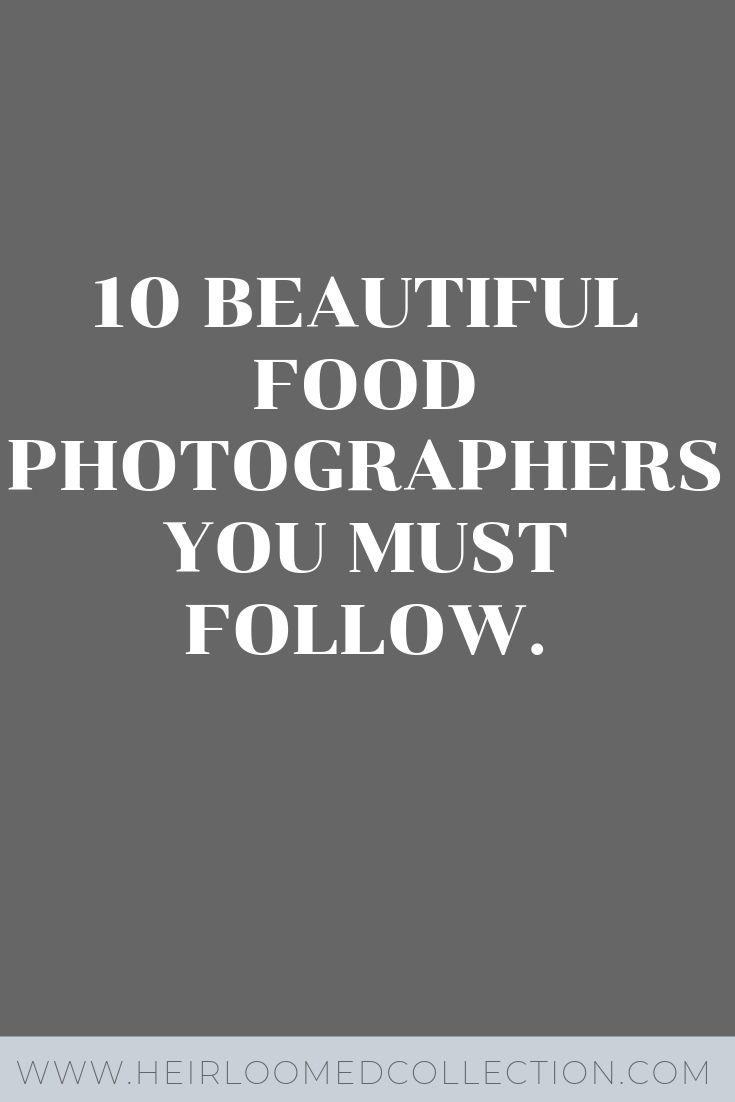 food photographers heirloomed