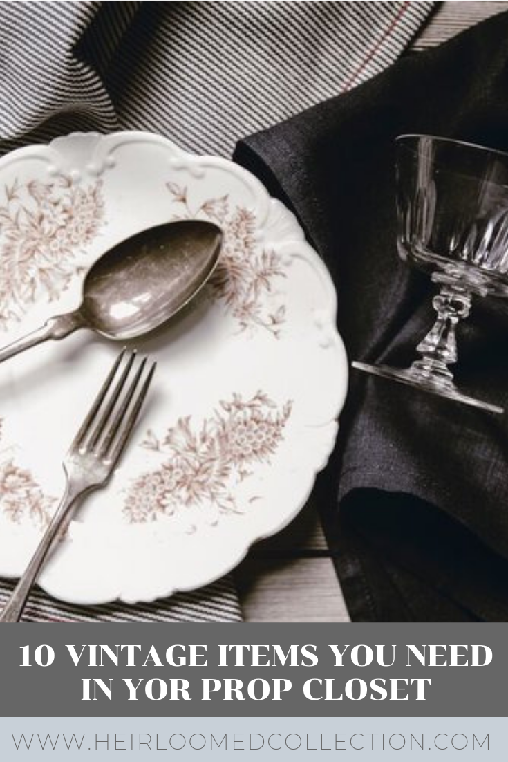 Enjoy this curated list of my favorite food styling props from my vintage collection. These pieces are all perfectly rustic and unique and elevate food photography to the next level.
