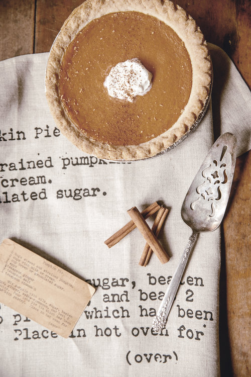 pumpkin pie by heirloomed