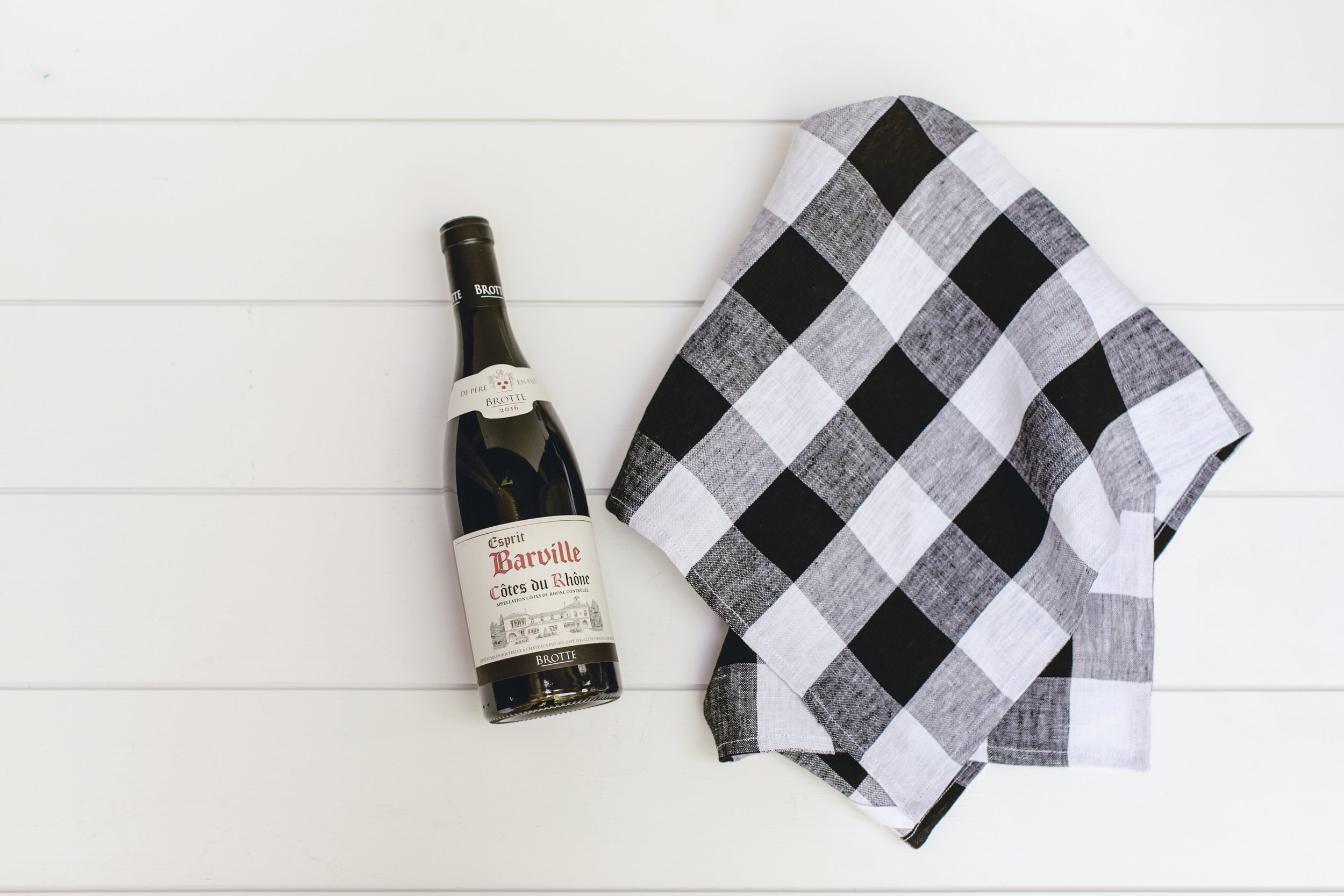wine wrap for a party by heirloomed