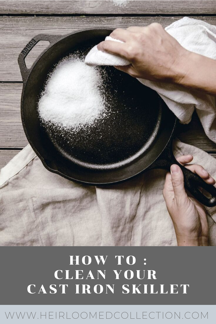 PIN IT BUTTON.pngHow To : Clean your skillet by heirloomed