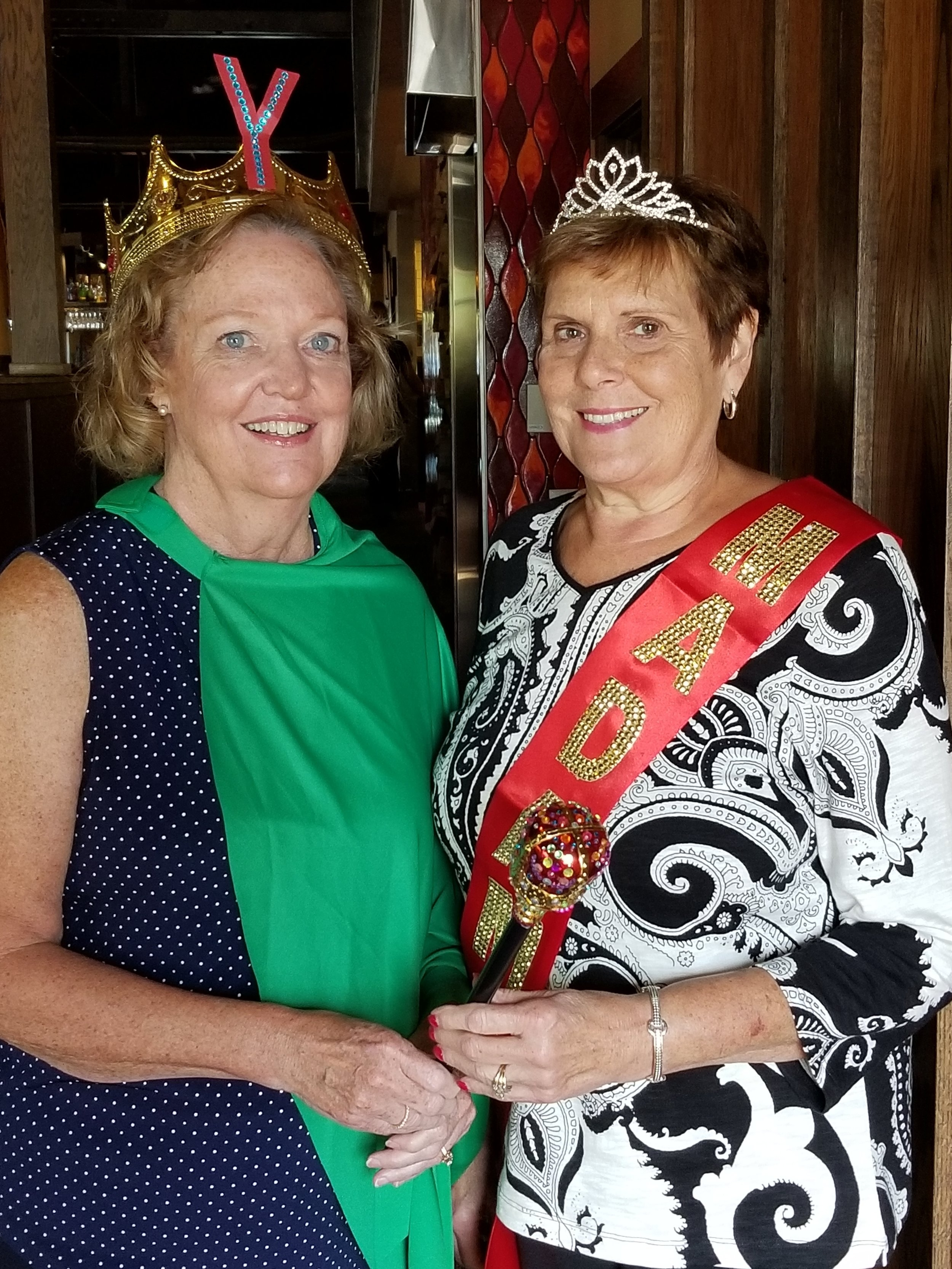 September - Colleen Lange and Cathy Mears