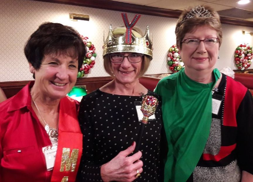 December - Kathy Janecek, Joanne Bahr, Sue Amo