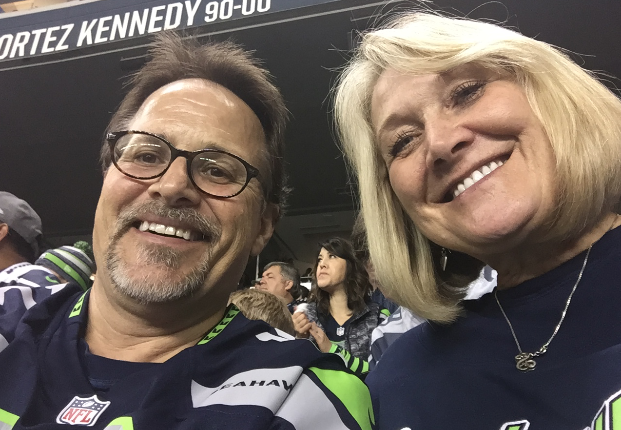 From a Monday Night Football game a few weeks ago (Seahawks vs. Bills). Awesome game and as always, GO HAWKS!