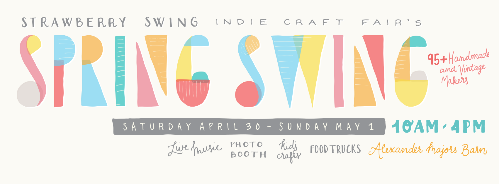 I also had the honor of designing the flyer and social media graphics for the event! Here's the Facebook cover image.