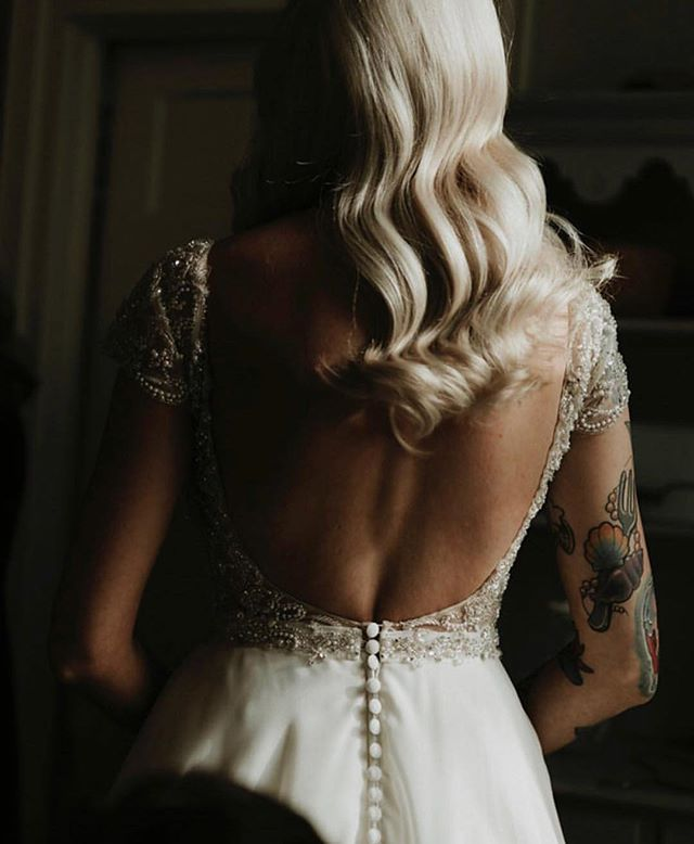 Tattooed brides? Yes please.