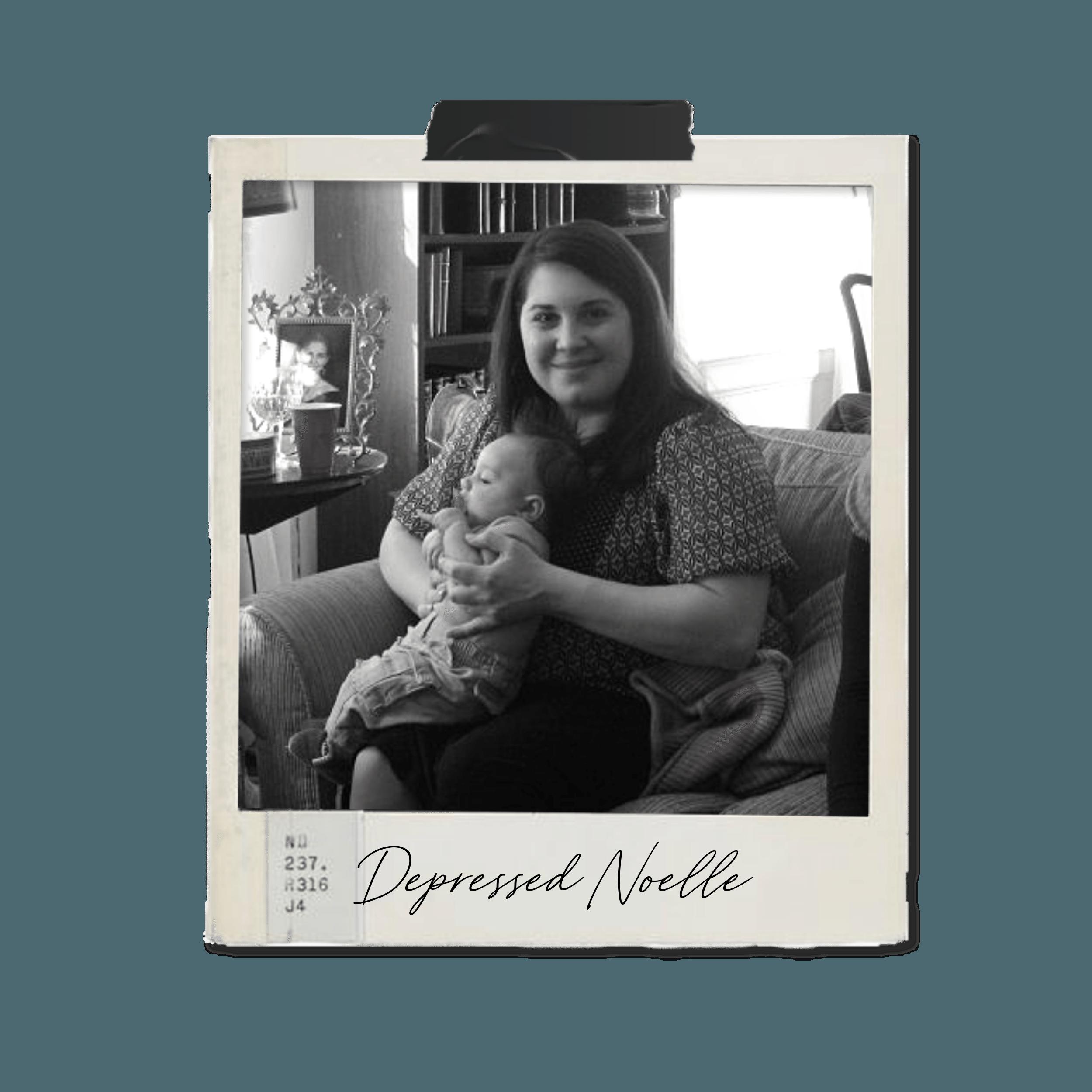 postpartum mom