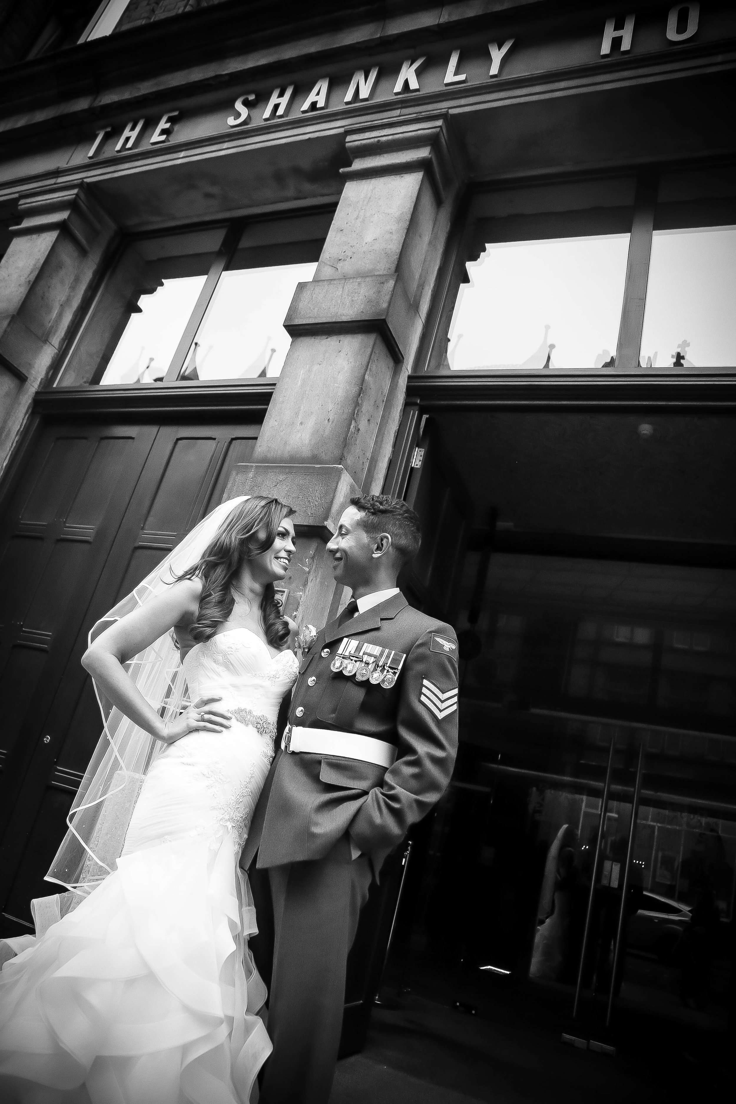 Wedding at the shankly
