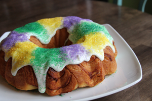 B)  Image: Southern Comfort's Easy King Cake