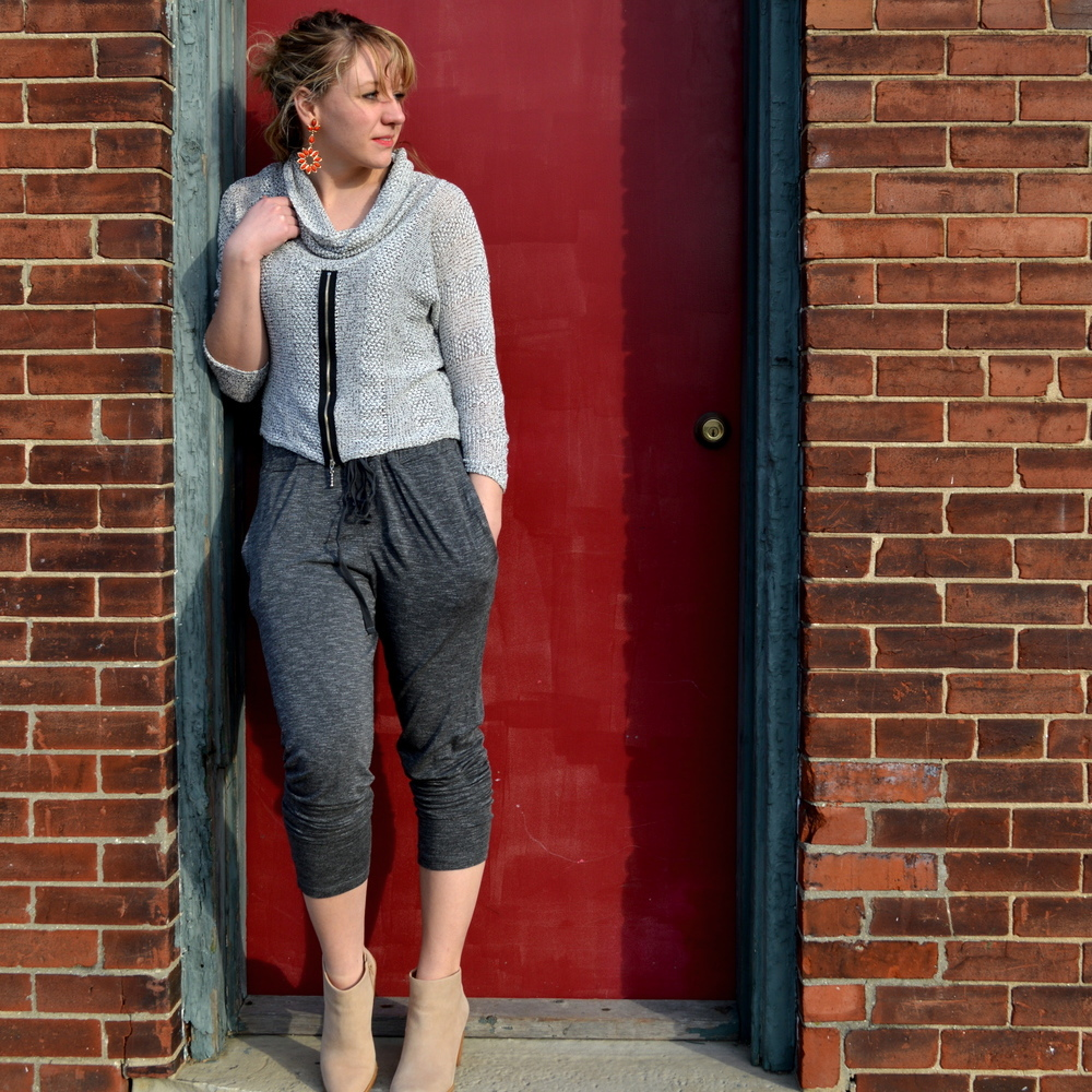 LAYERING A JUMP SUIT FOR SPRING