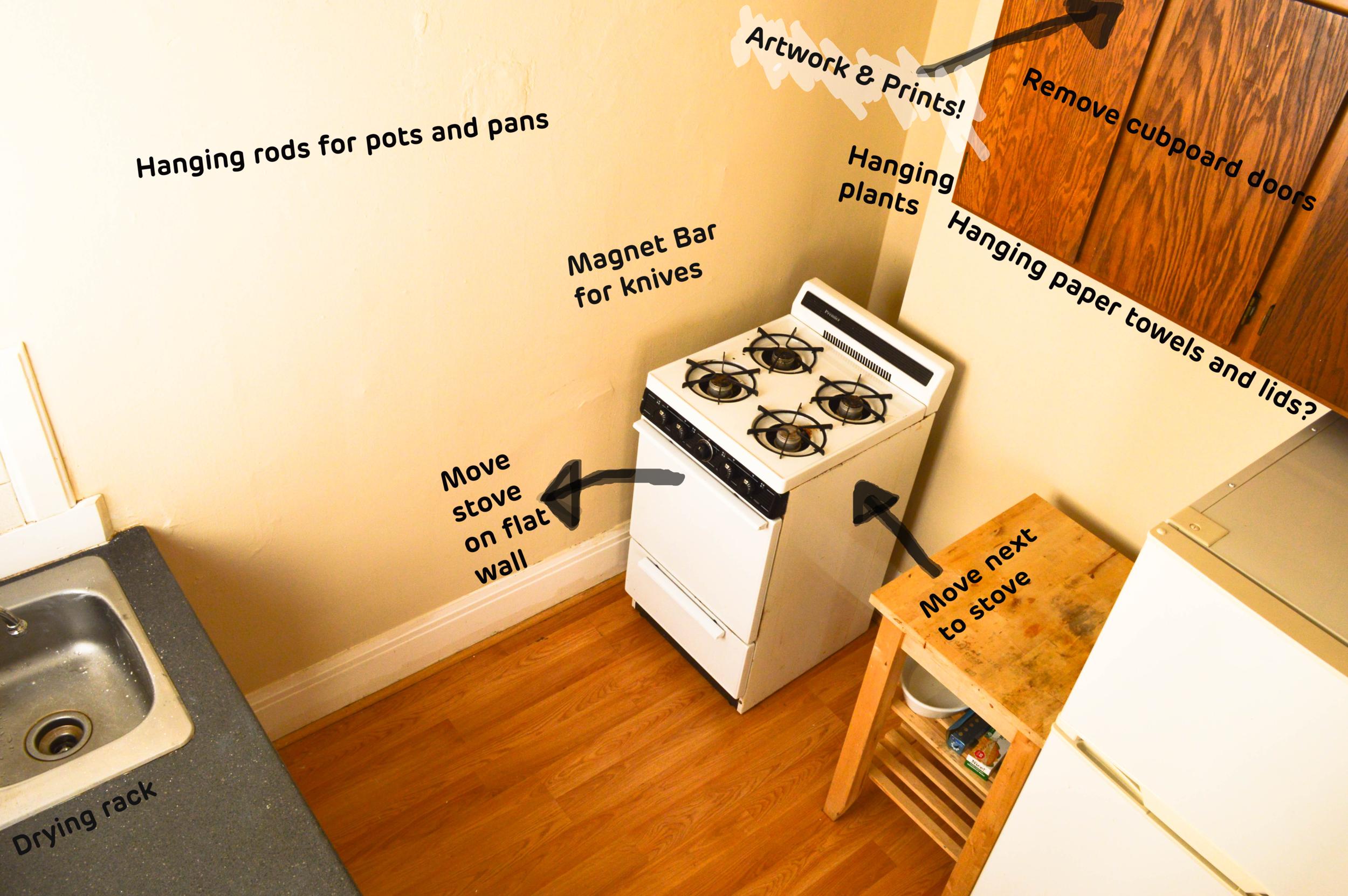 Annies Studio Kitchen Before